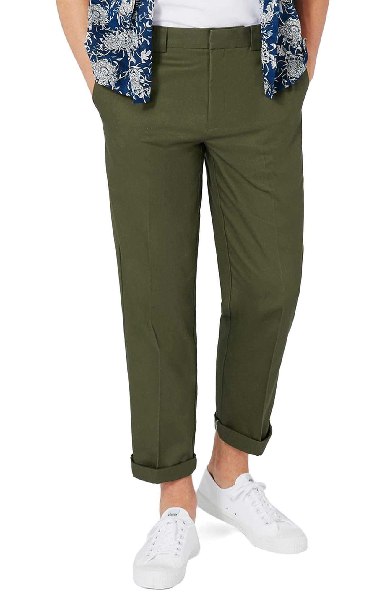 Topman Slim Fit Trousers