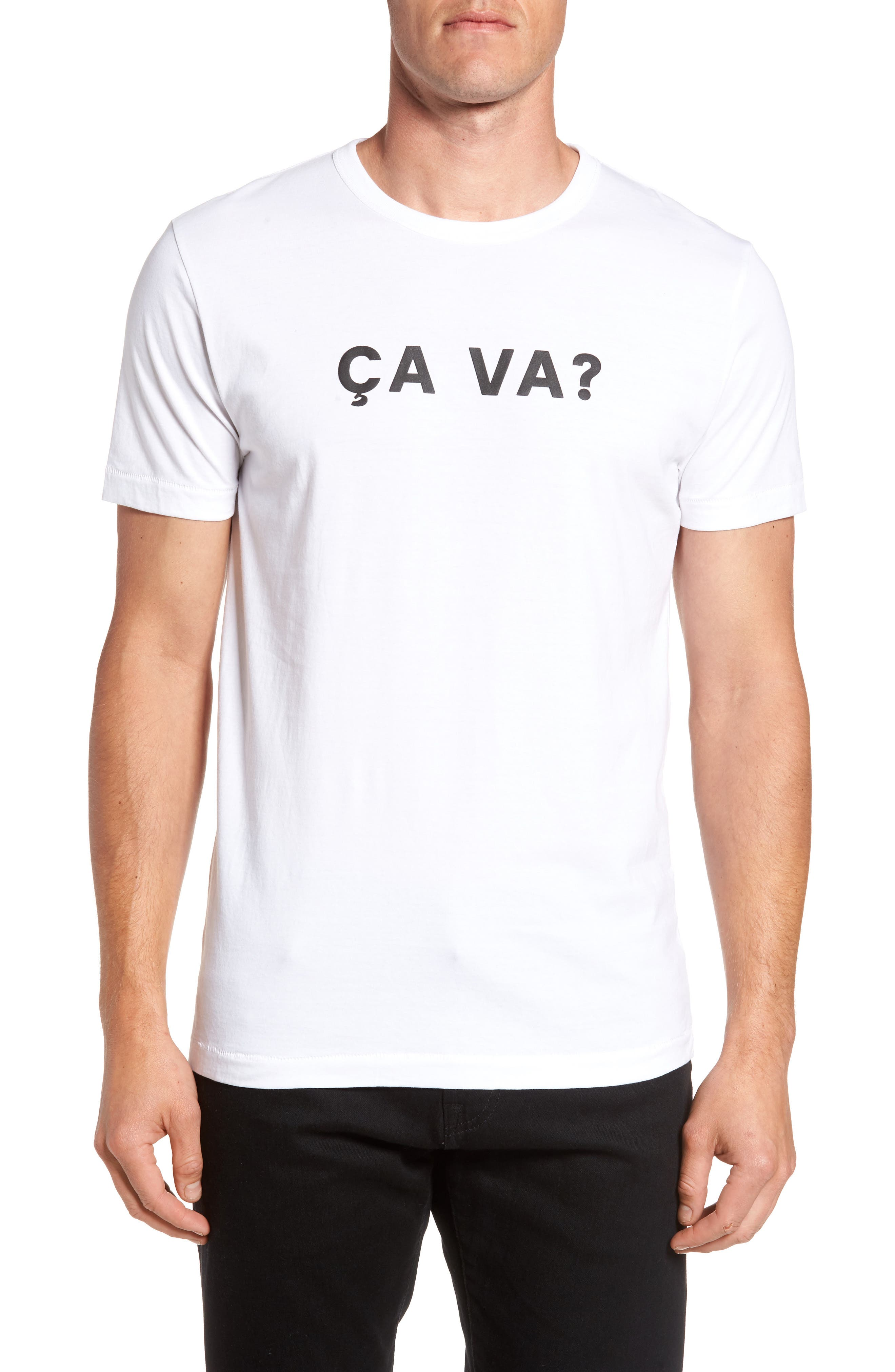 French Connection Ca Va? Graphic T-Shirt