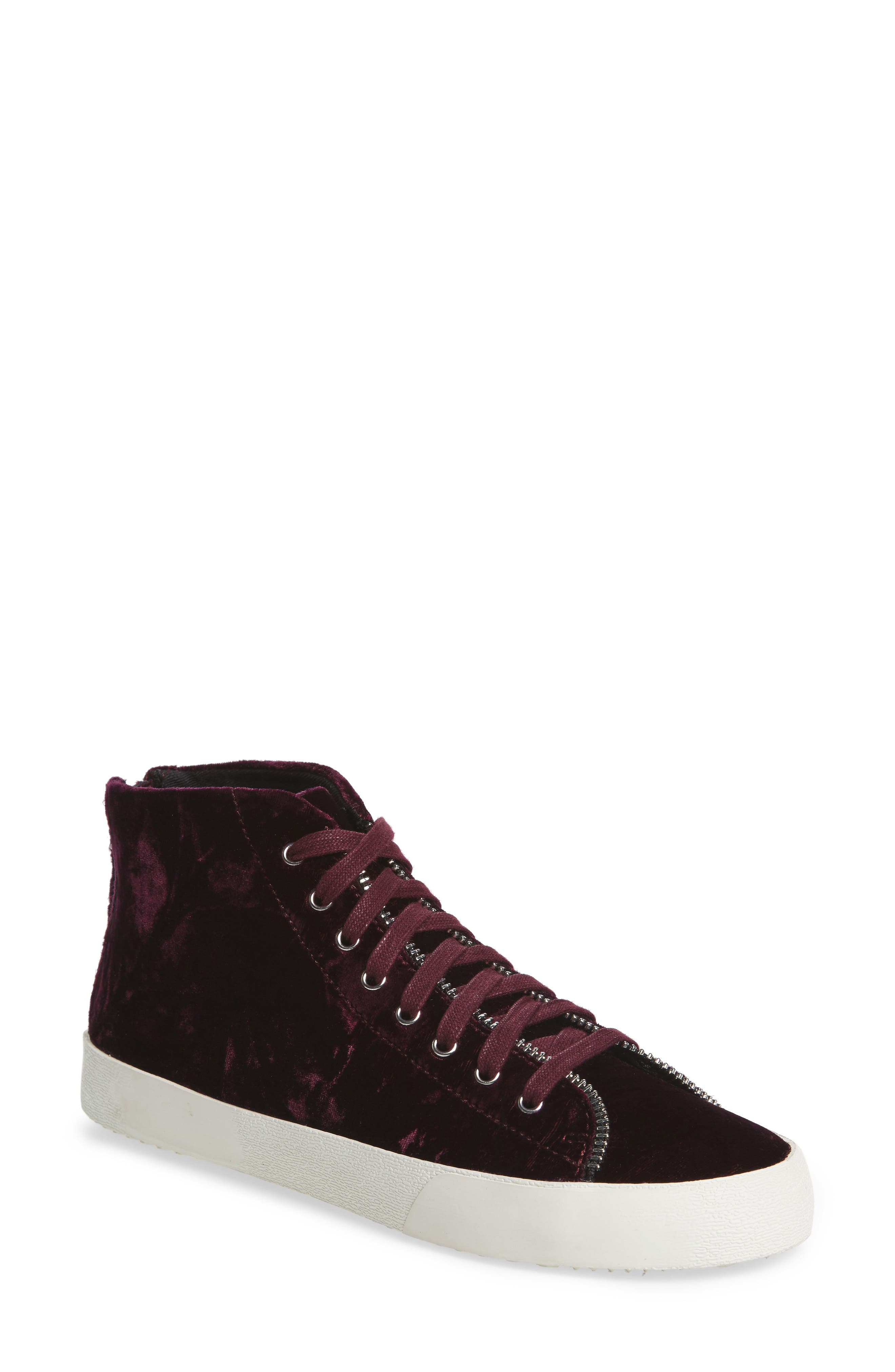 Rebecca Minkoff Zaina Zip Trim Sneaker (Women)
