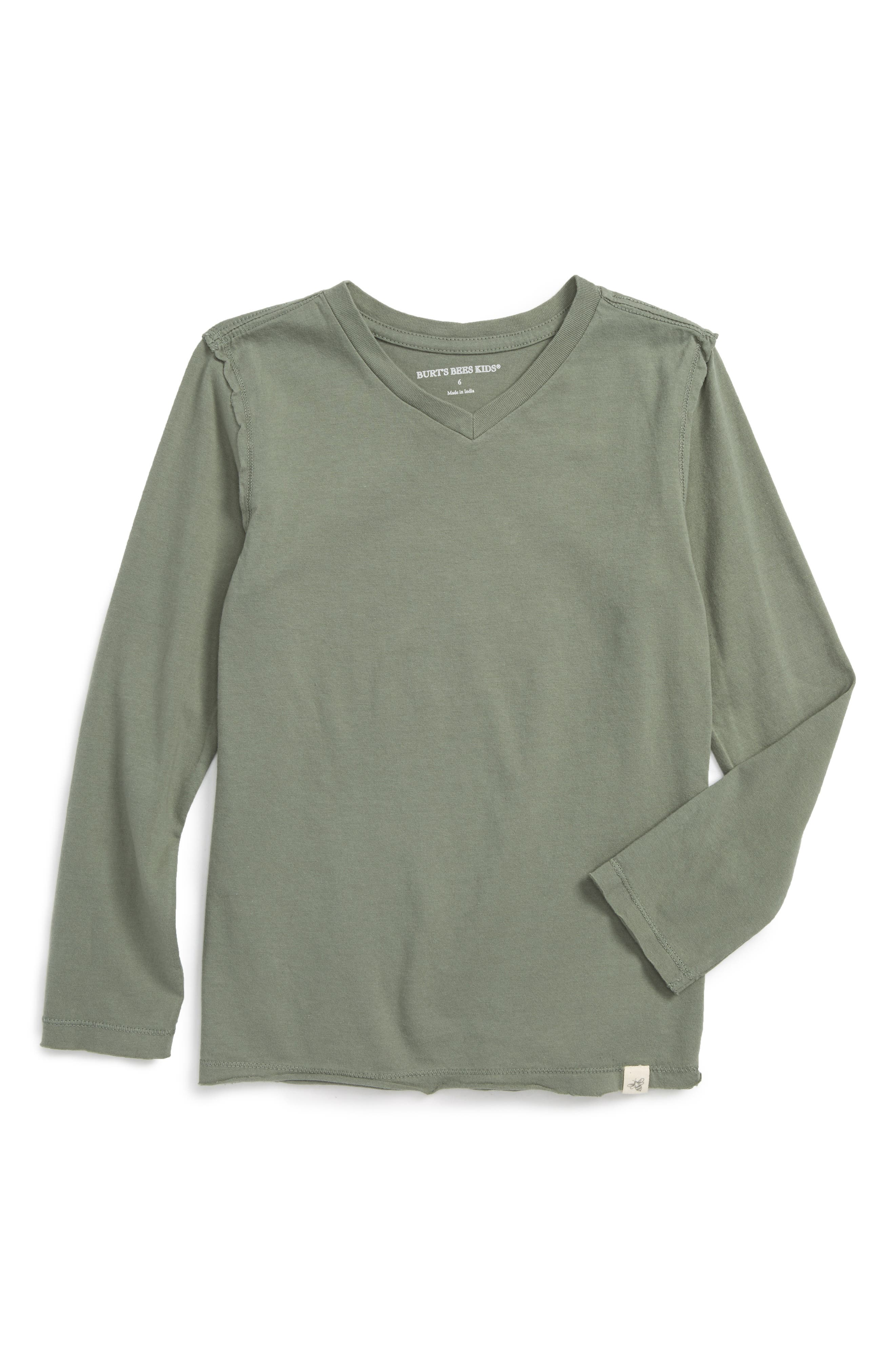 Burt's Bees Baby V-Neck Organic Cotton T-Shirt (Toddler Boys & Little Boys)