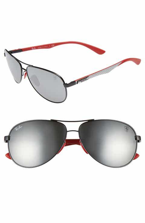 Ray-Ban 61mm Aviator Sunglasses