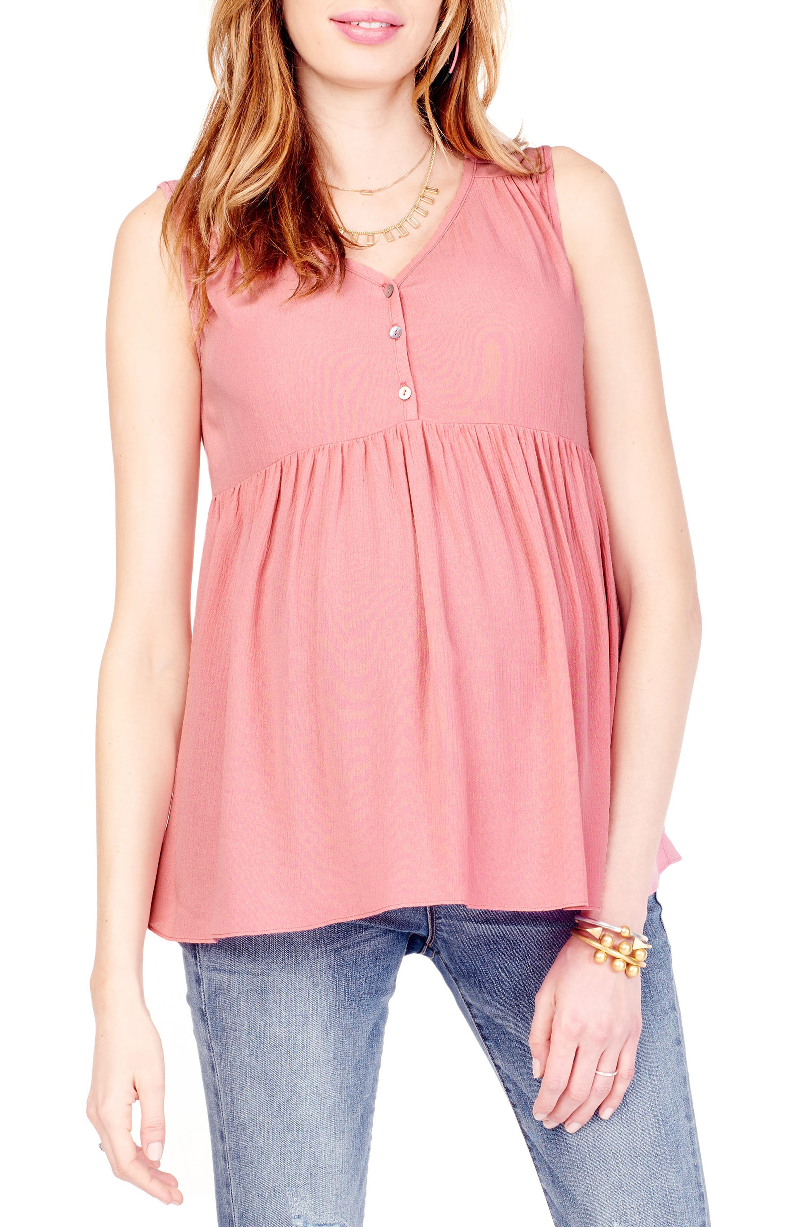 Ingrid & Isabel® Crinkle Maternity Top