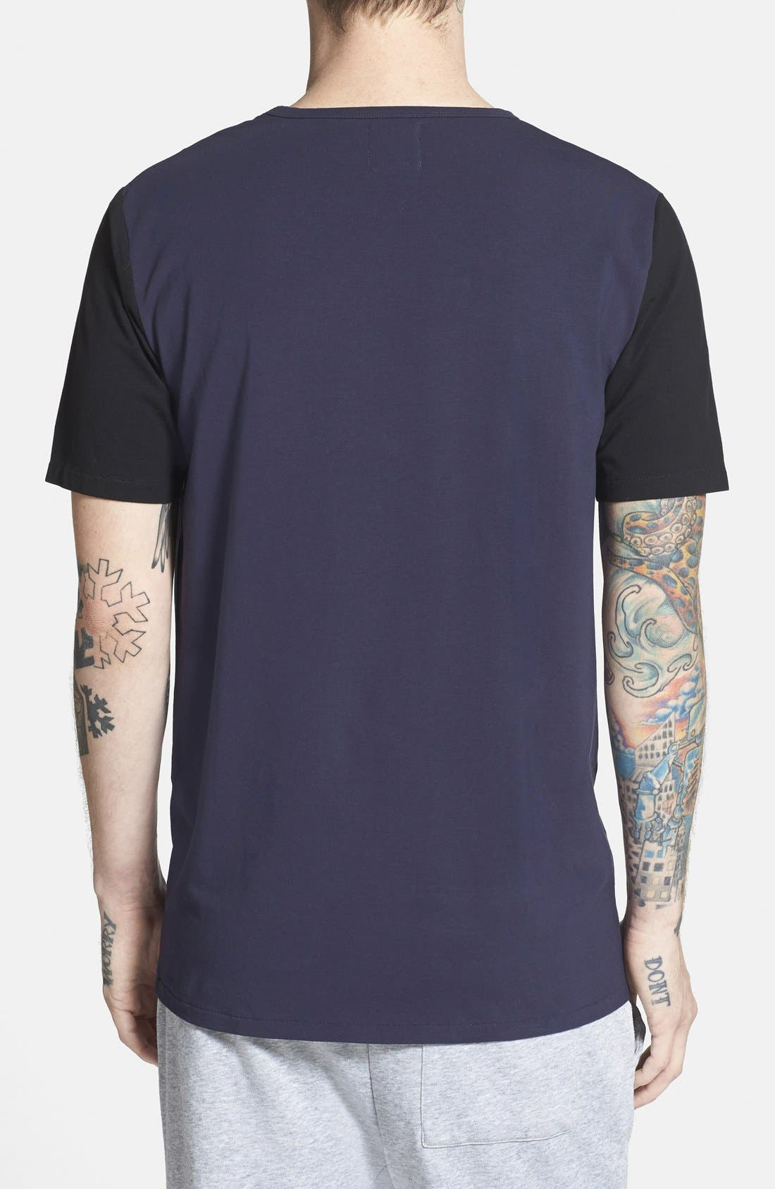Alternate Image 2  - Barney Cools Stretch Colorblock T-Shirt