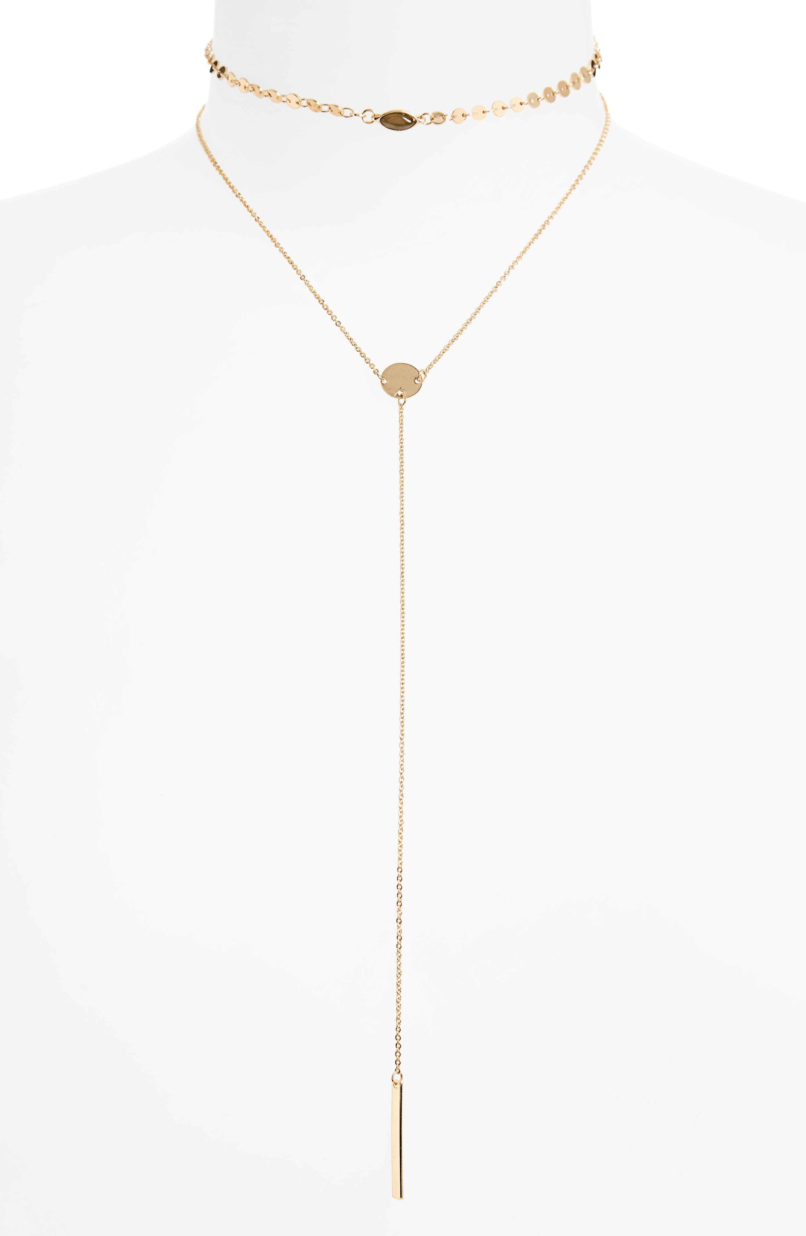 BP. Layered Y-Necklace