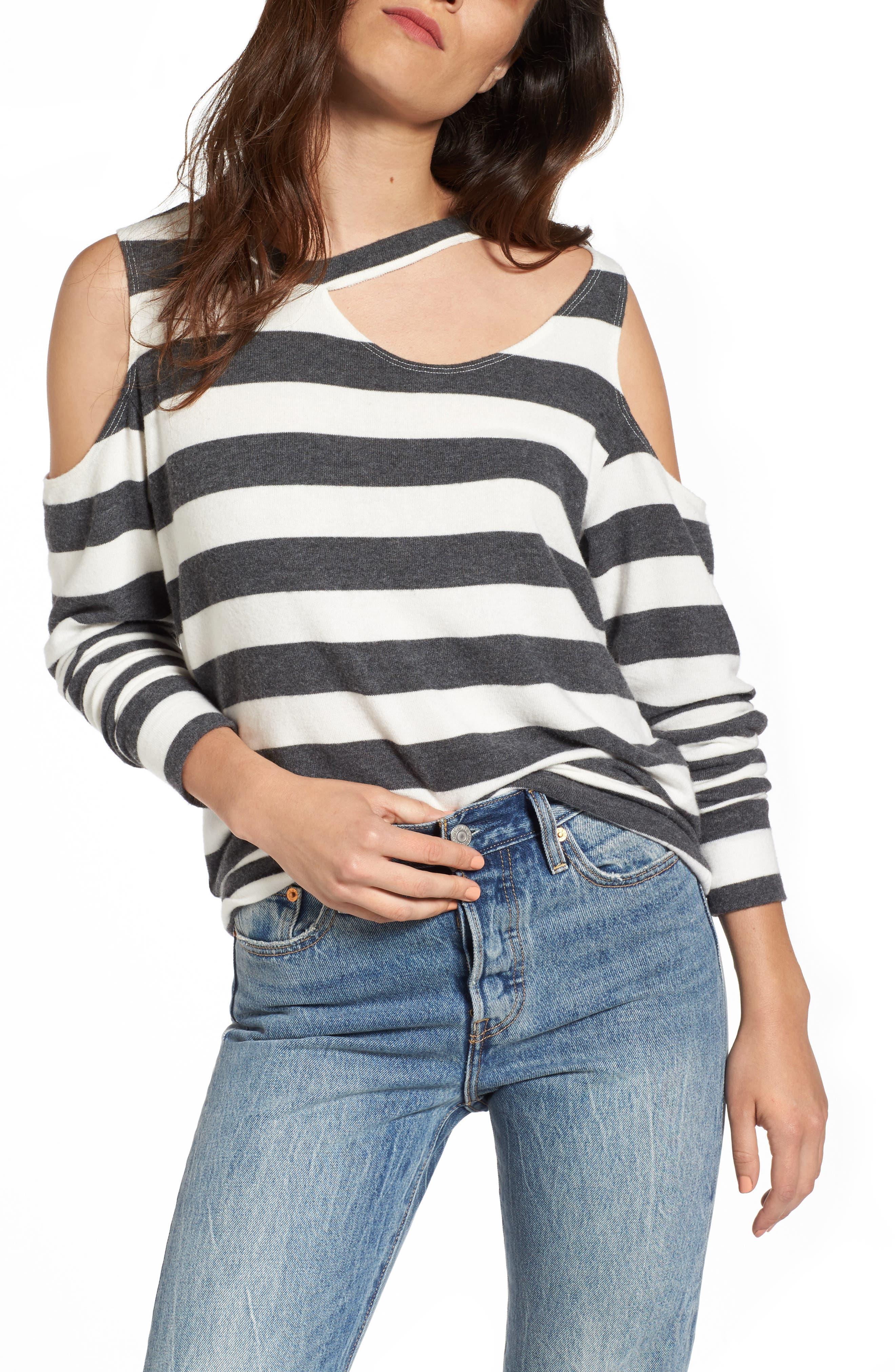 LNA Leon Cutout Sweater
