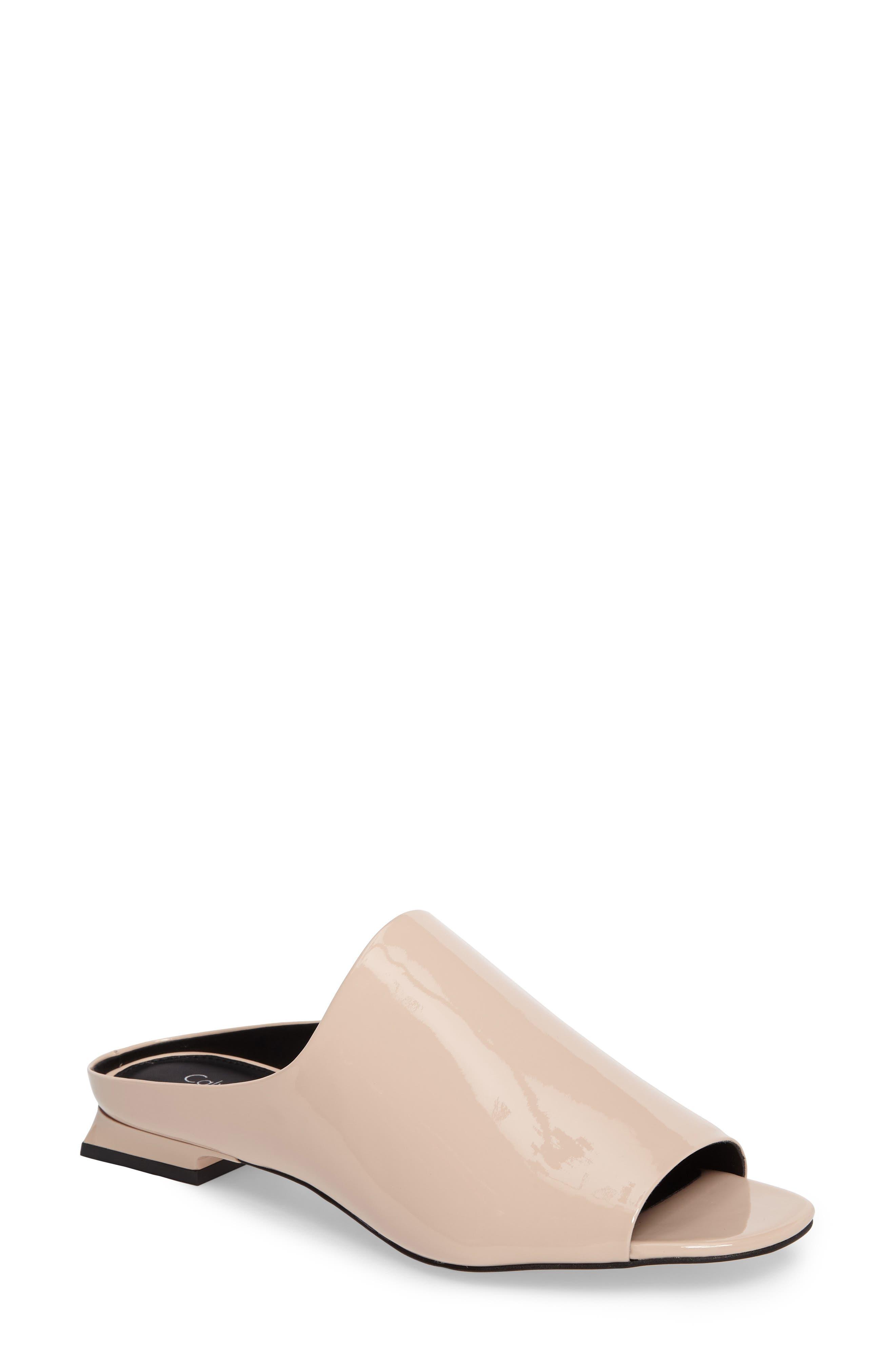 Calvin Klein Mabel Open Toe Mule (Women)