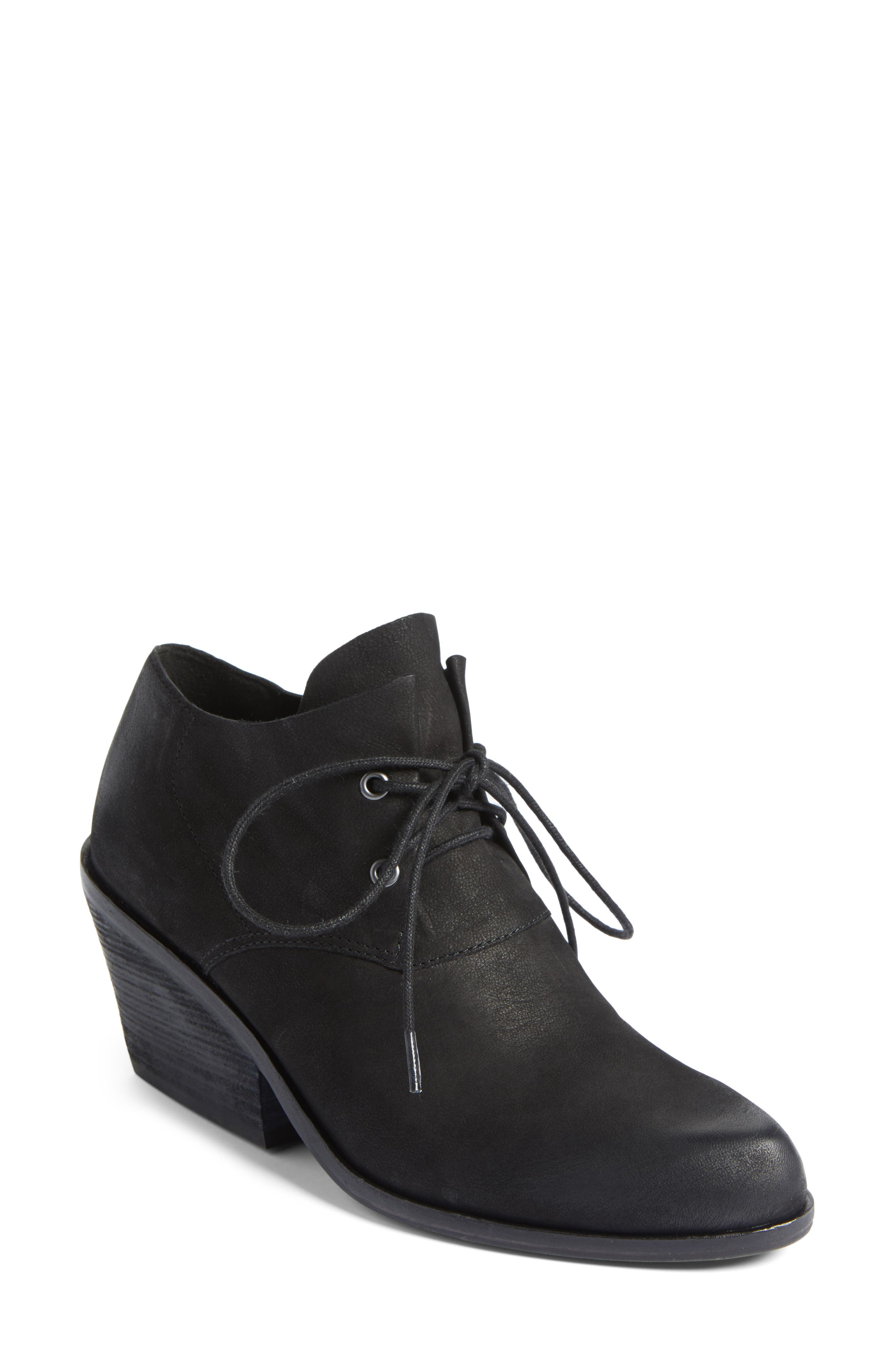 Eileen Fisher Charlie Lace-Up Bootie (Women)