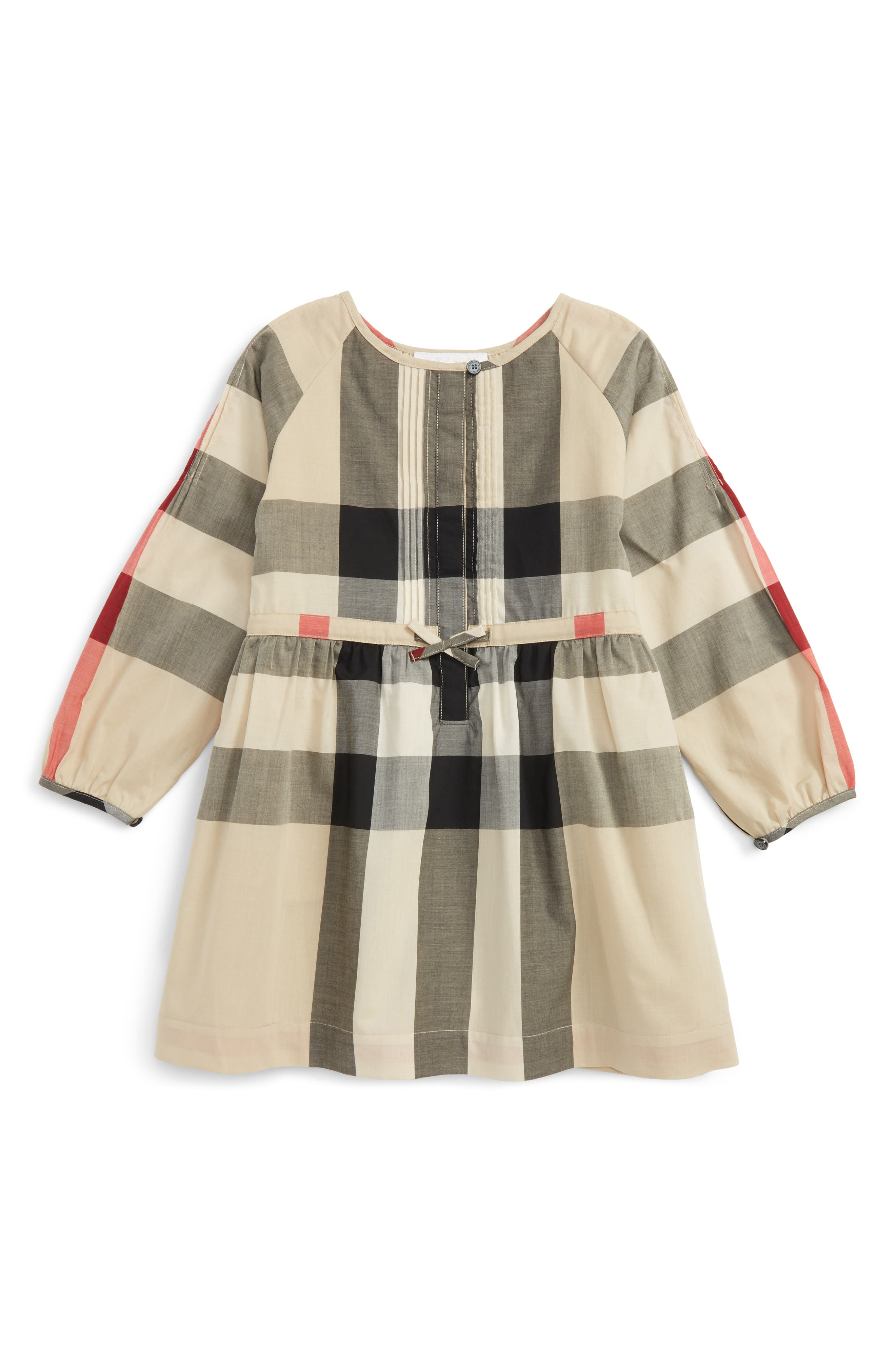 Burberry Kids Agnes Check Print Dress (Little Girls & Big Girls)