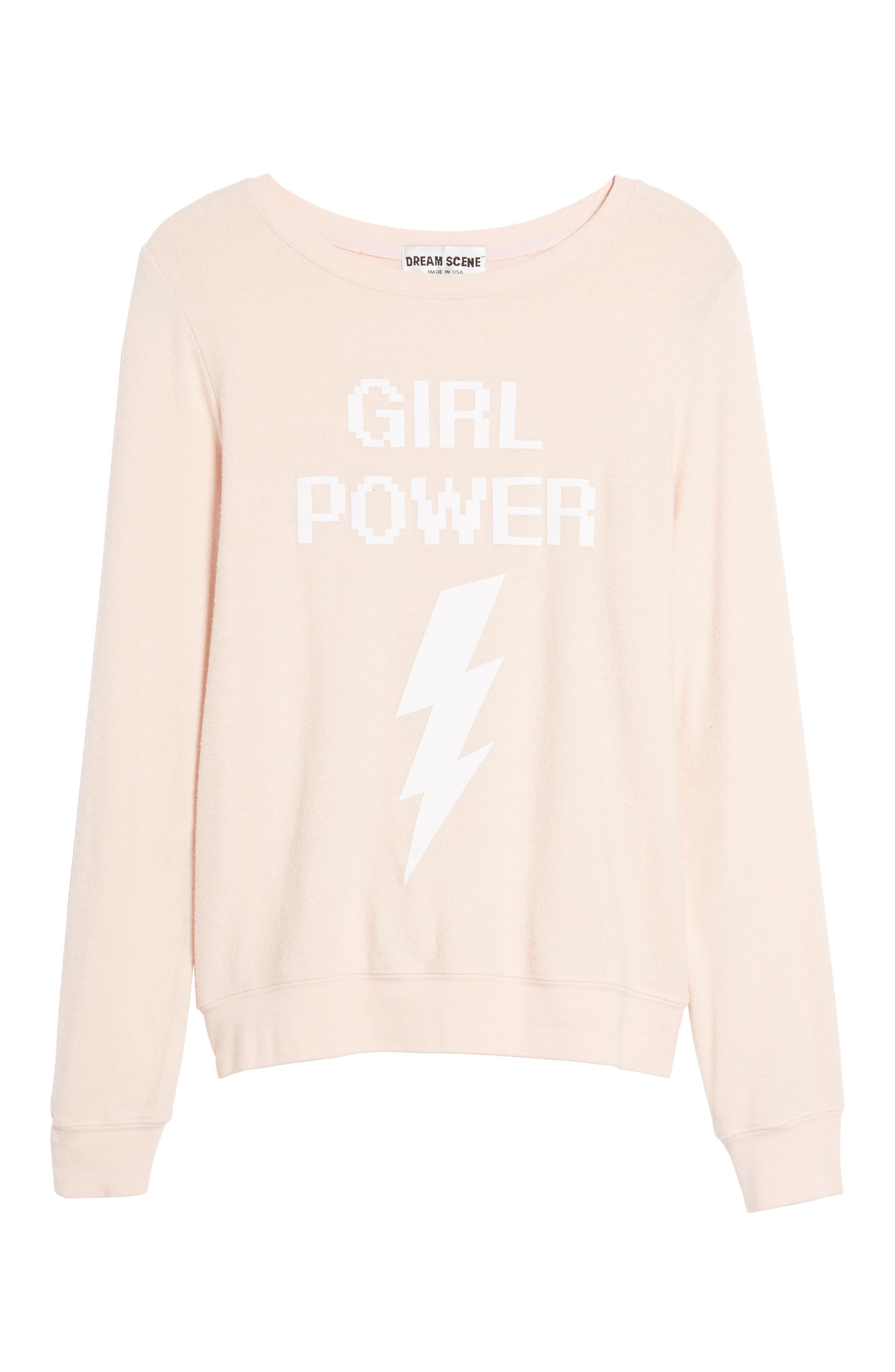 Dream Scene Girl Power Sweatshirt
