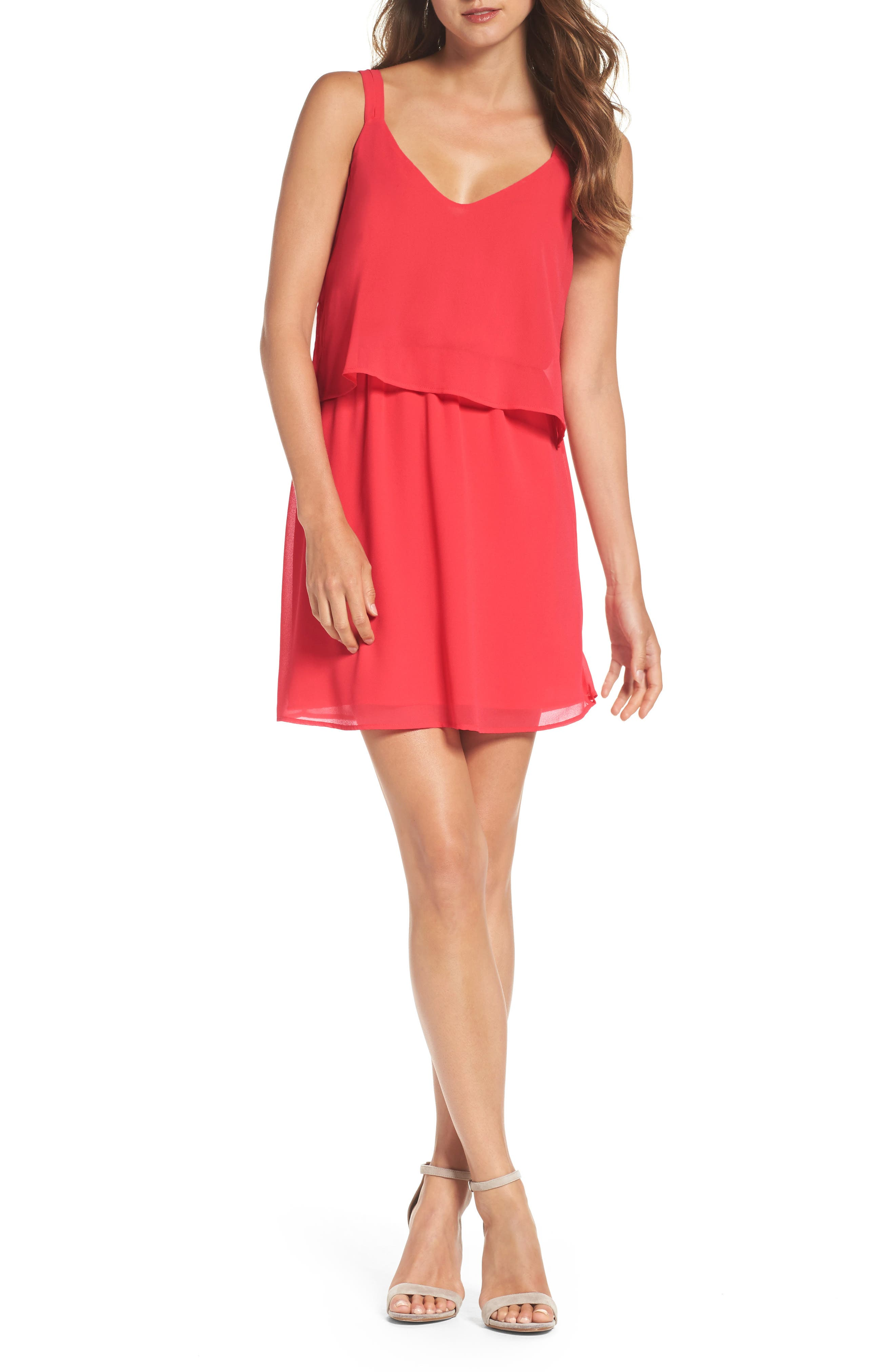 Charles Henry Popover Dress (Regular & Petite)