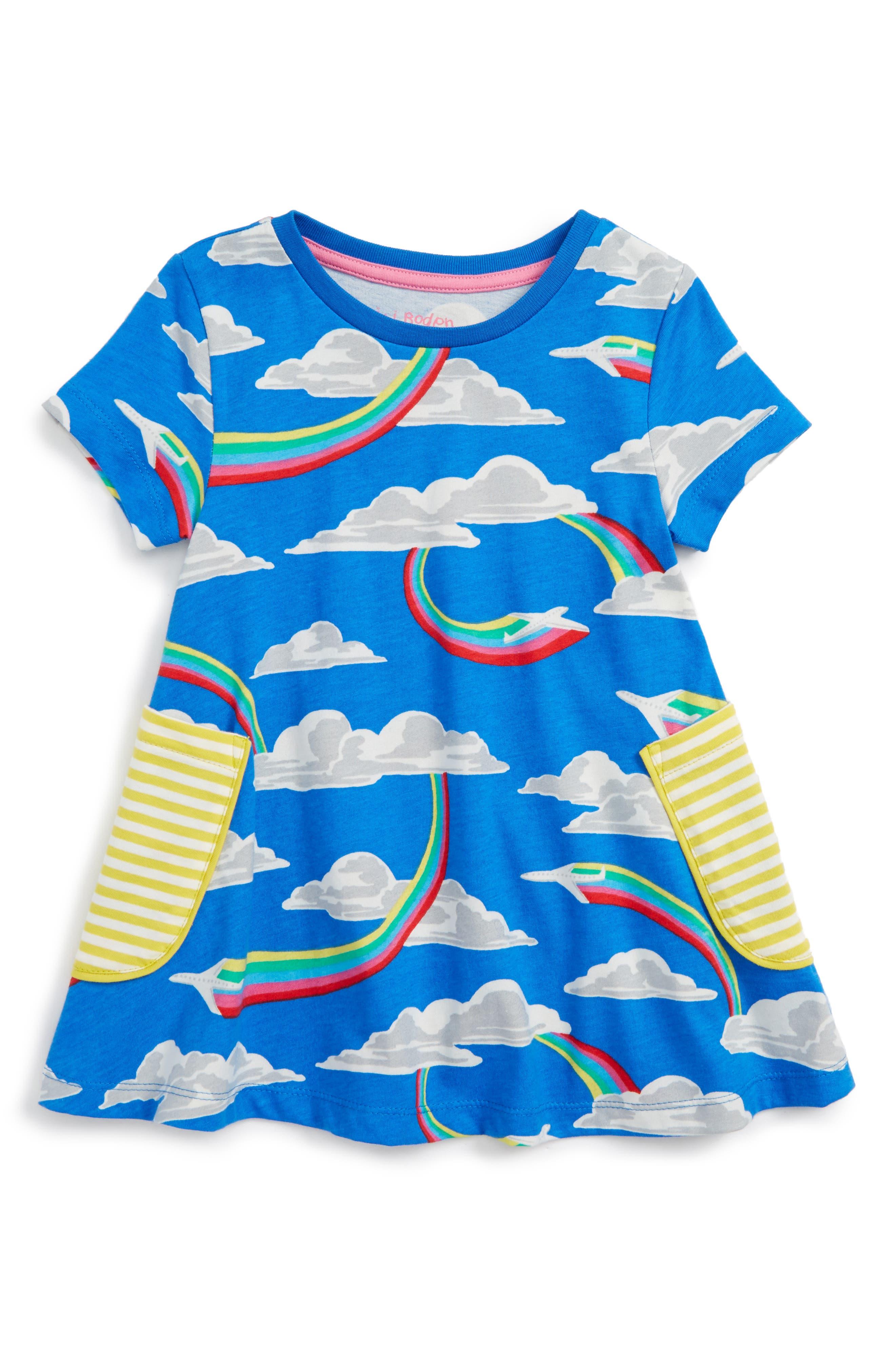 Mini Boden Summer Tunic (Toddler Girls, Little Girls & Big Girls)