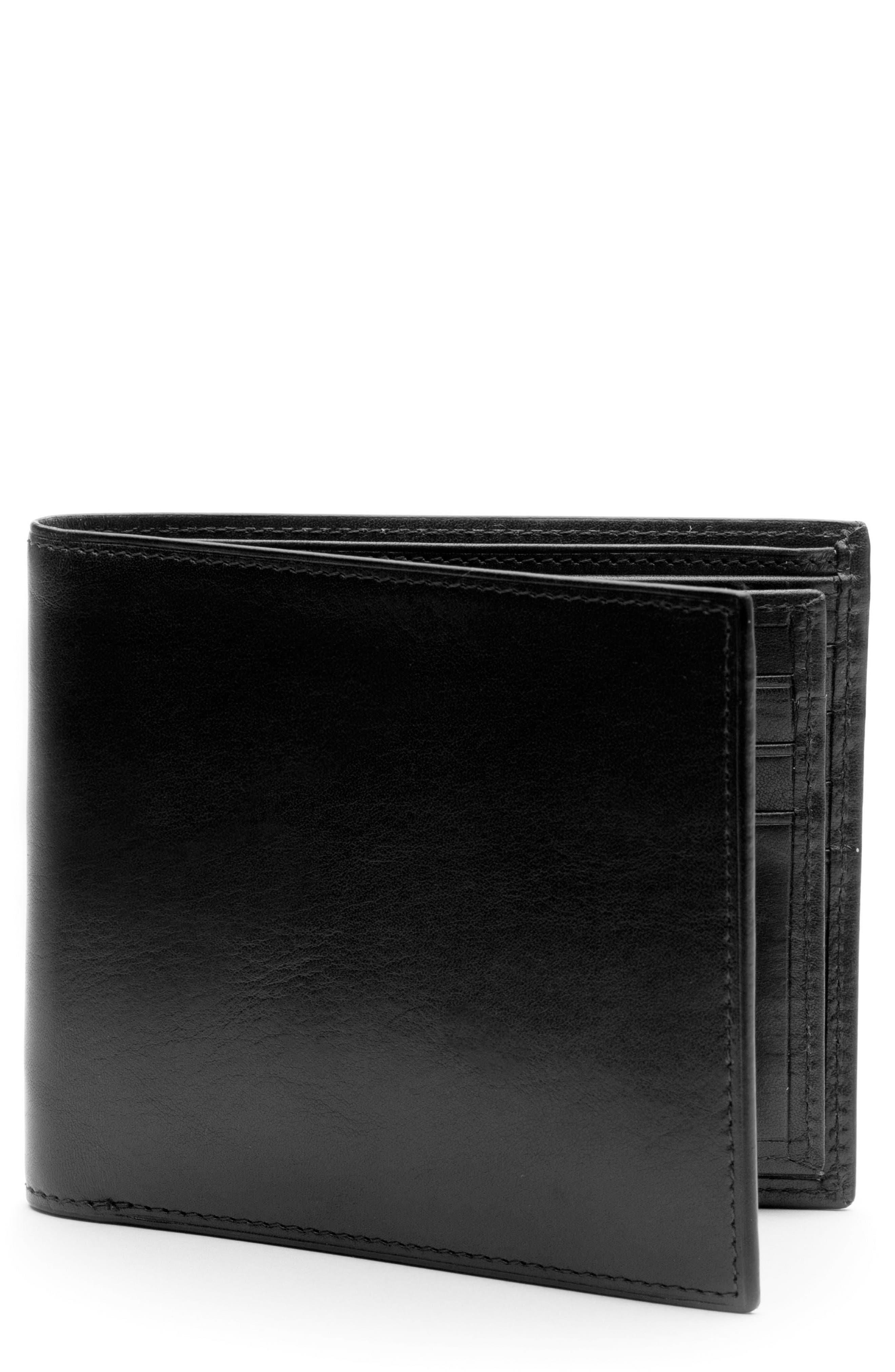 Bosca Aged Leather Executive RIFD Wallet