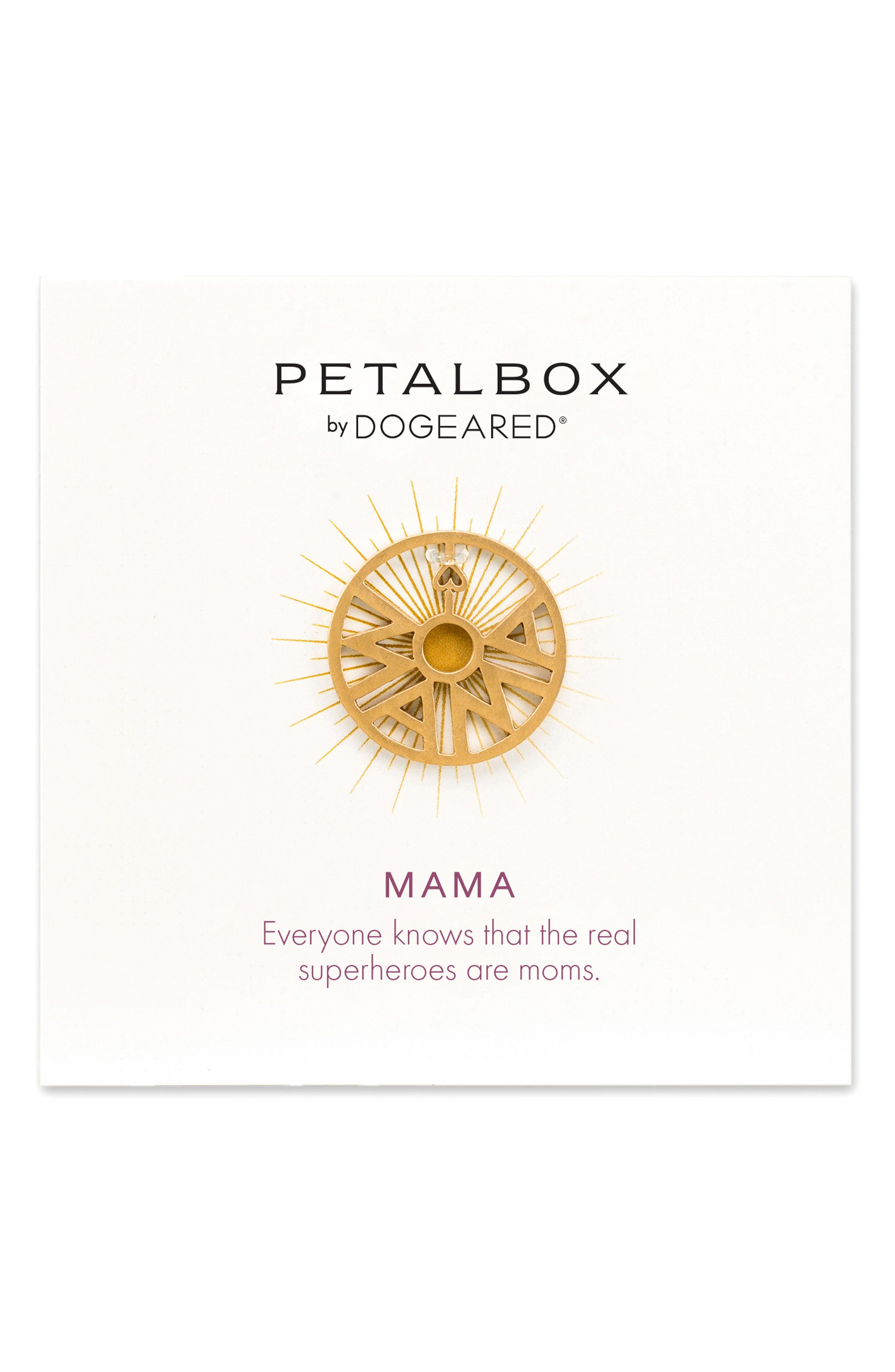 Dogeared Petalbox Mama Enhancer (Nordstrom Exclusive)
