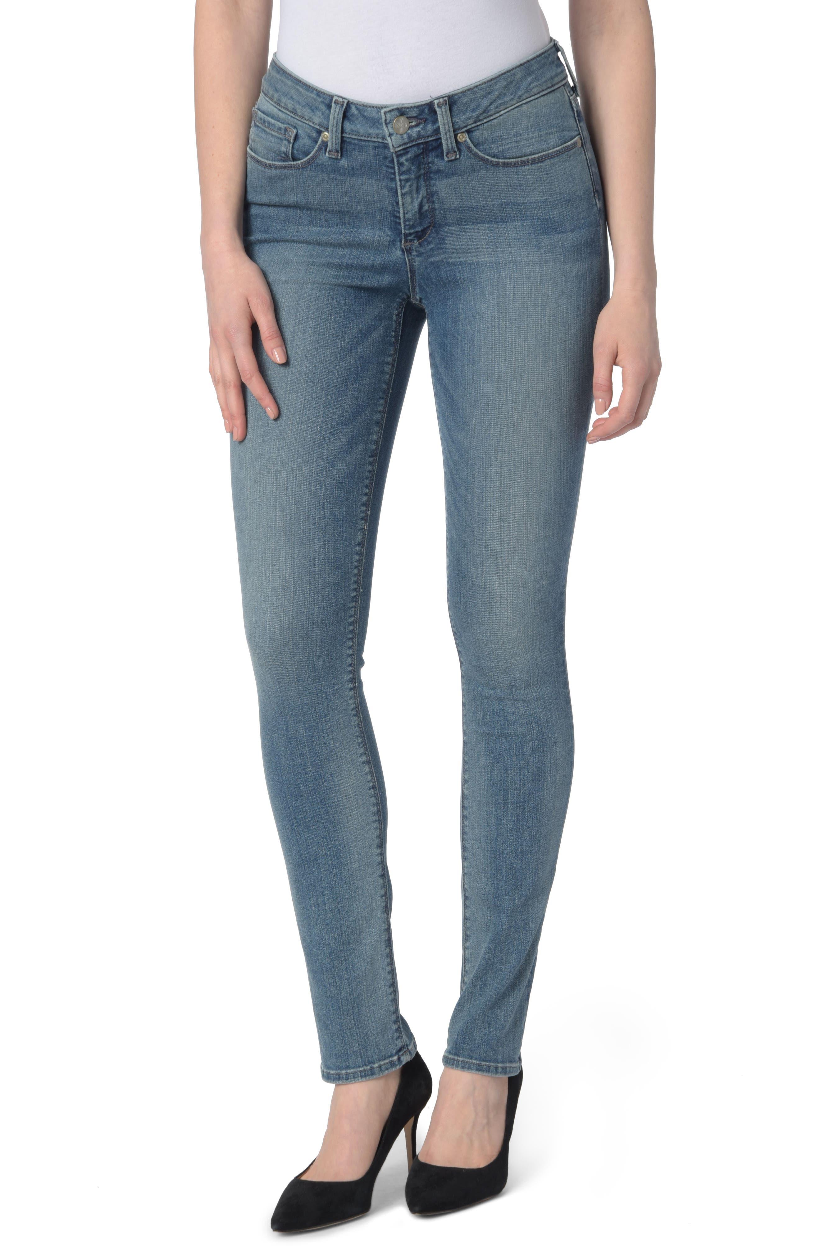 NYDJ Parker Stretch Slim Leg Jeans (Heyburn)