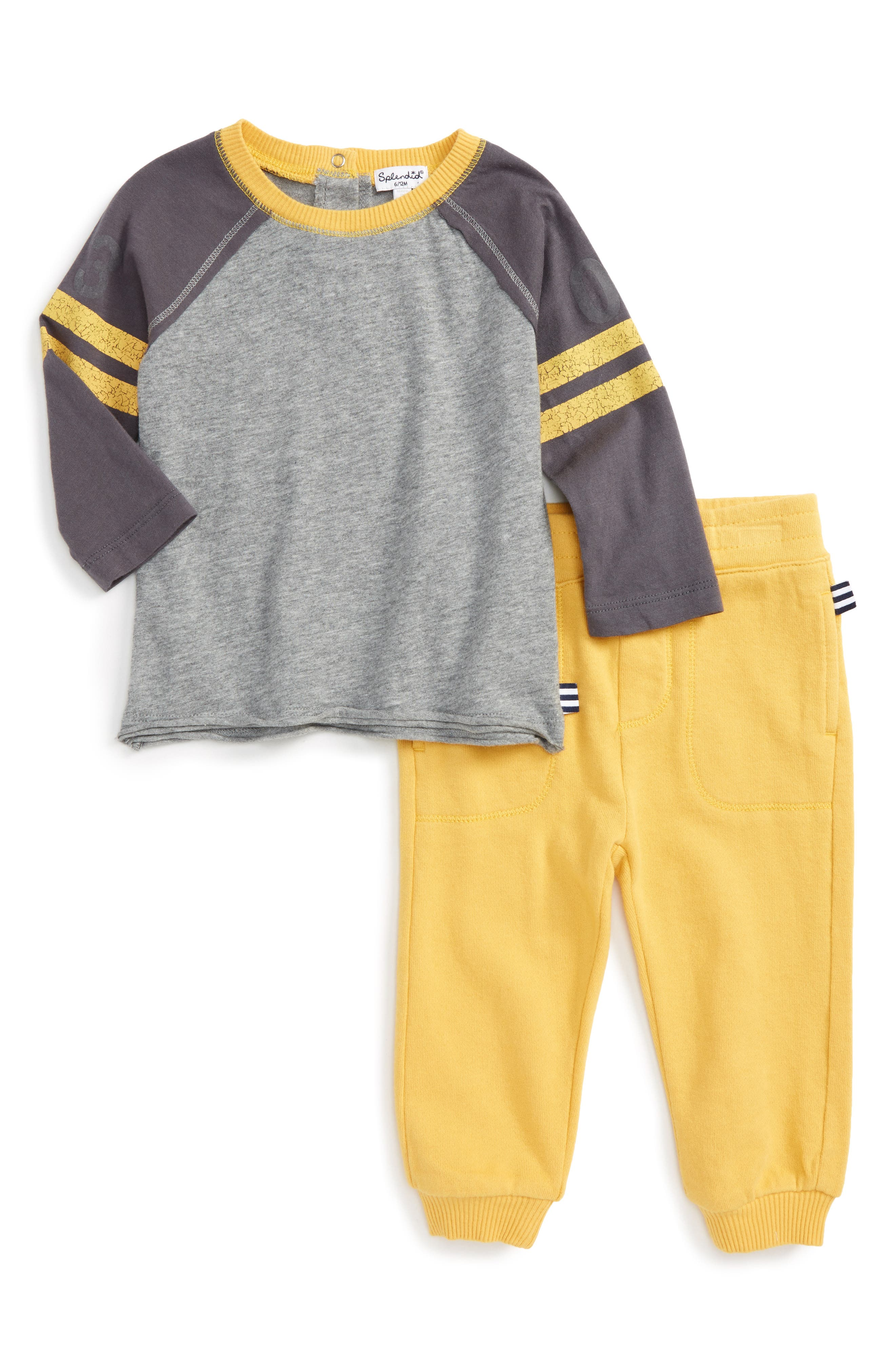 Splendid Football T-Shirt & Pants Set (Baby Boys)
