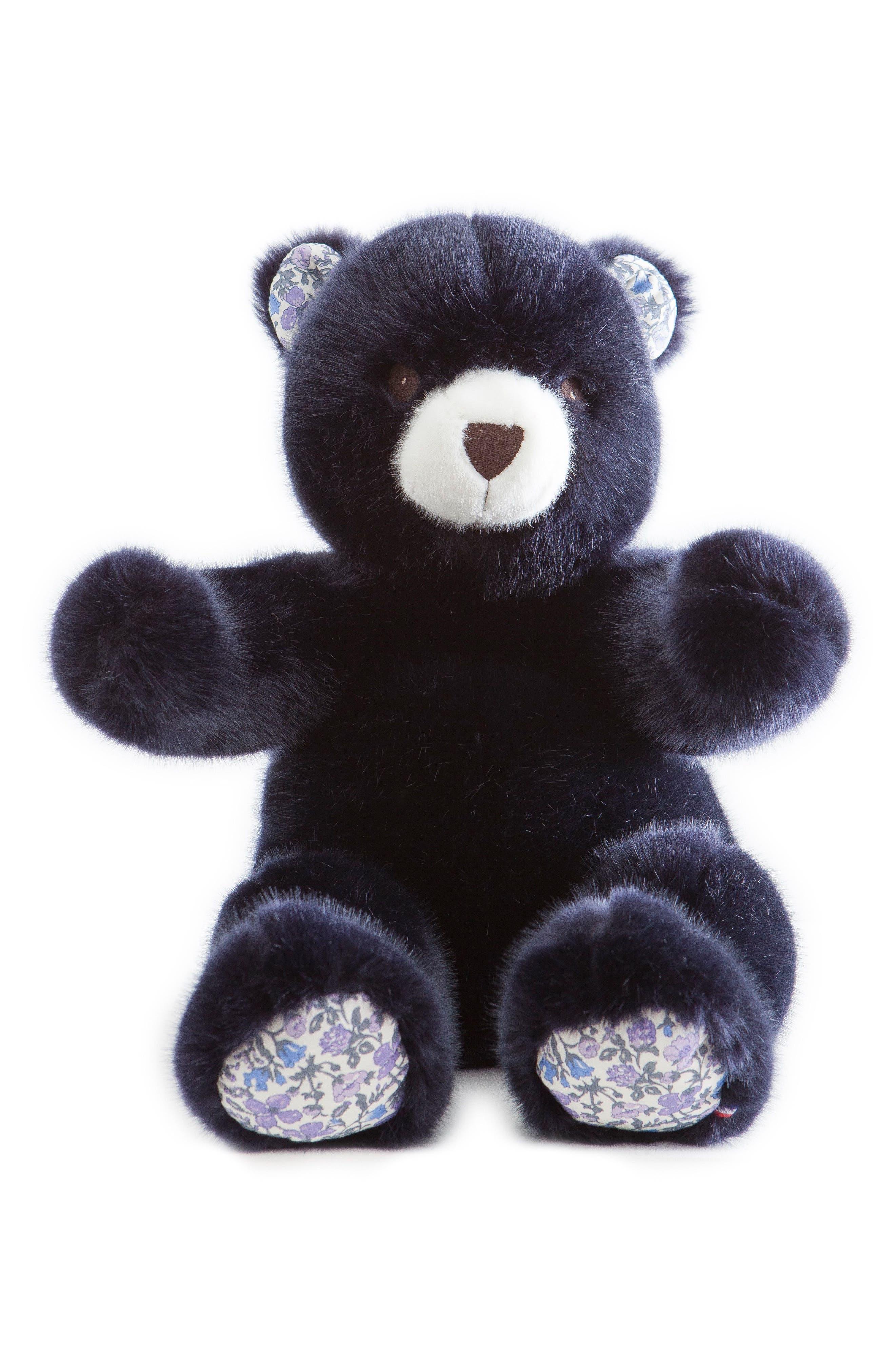Pamplemousse Peluches x Liberty of London Robert the Bear Stuffed Animal