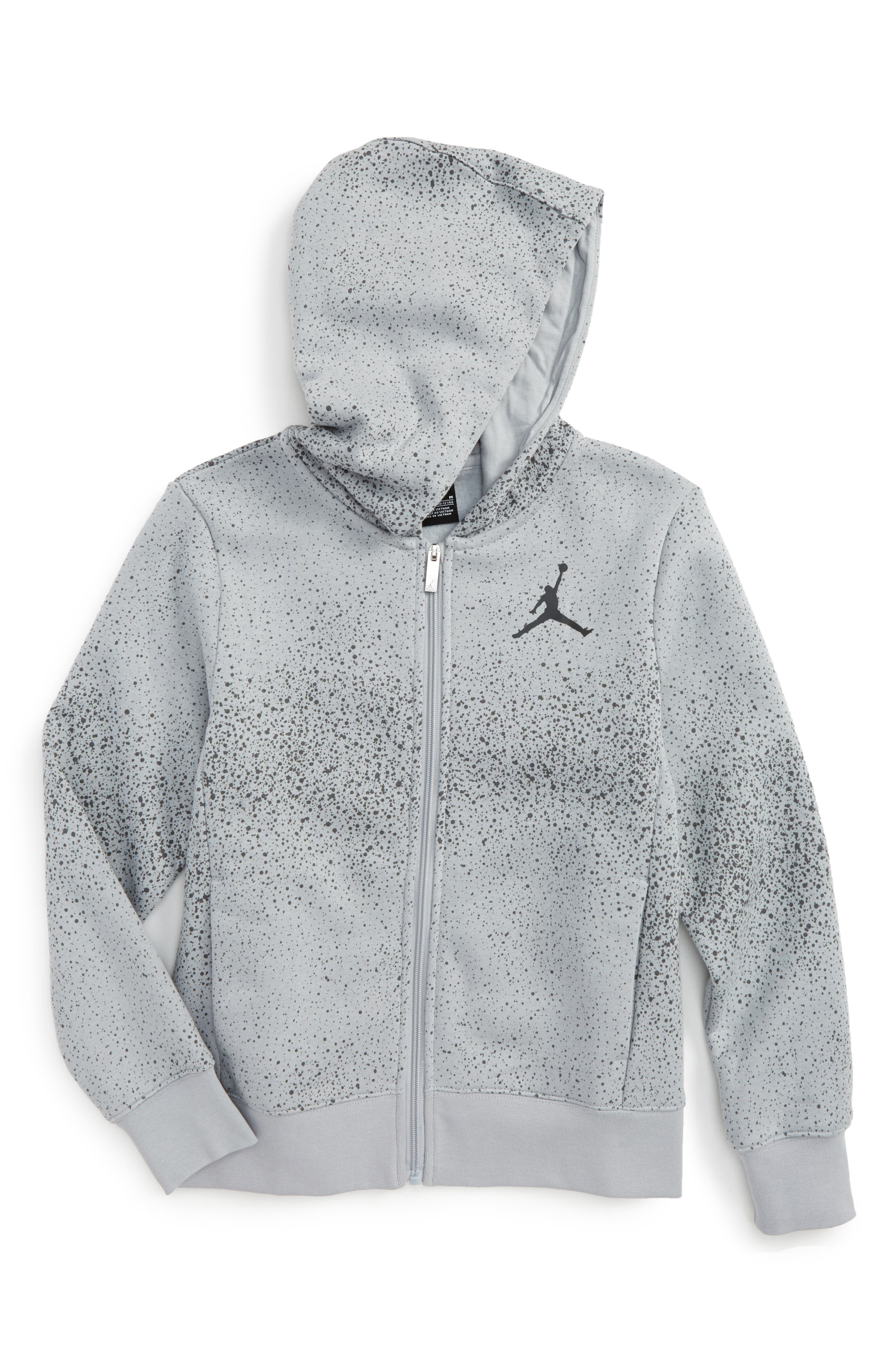 Jordan Flight Zip Hoodie (Big Boys)
