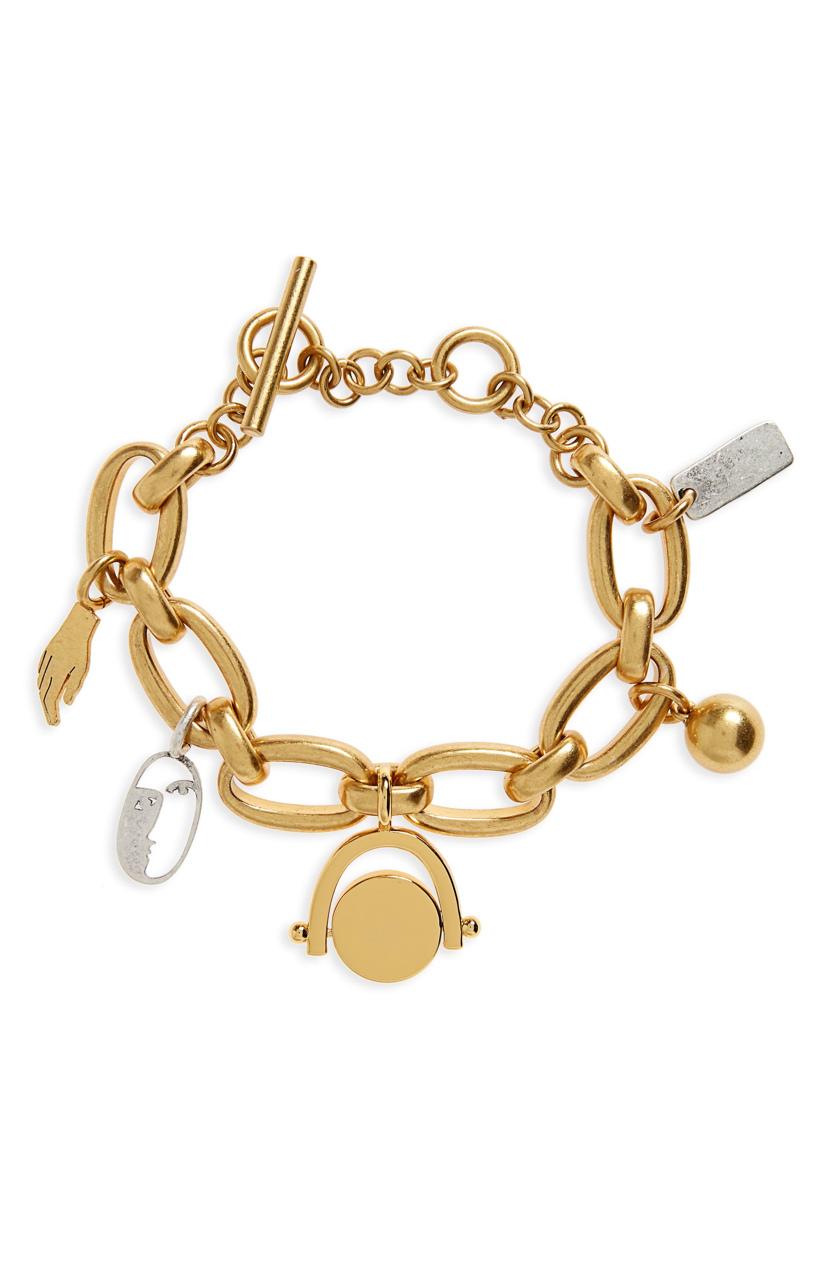 Madewell Keepsake Charm Bracelet