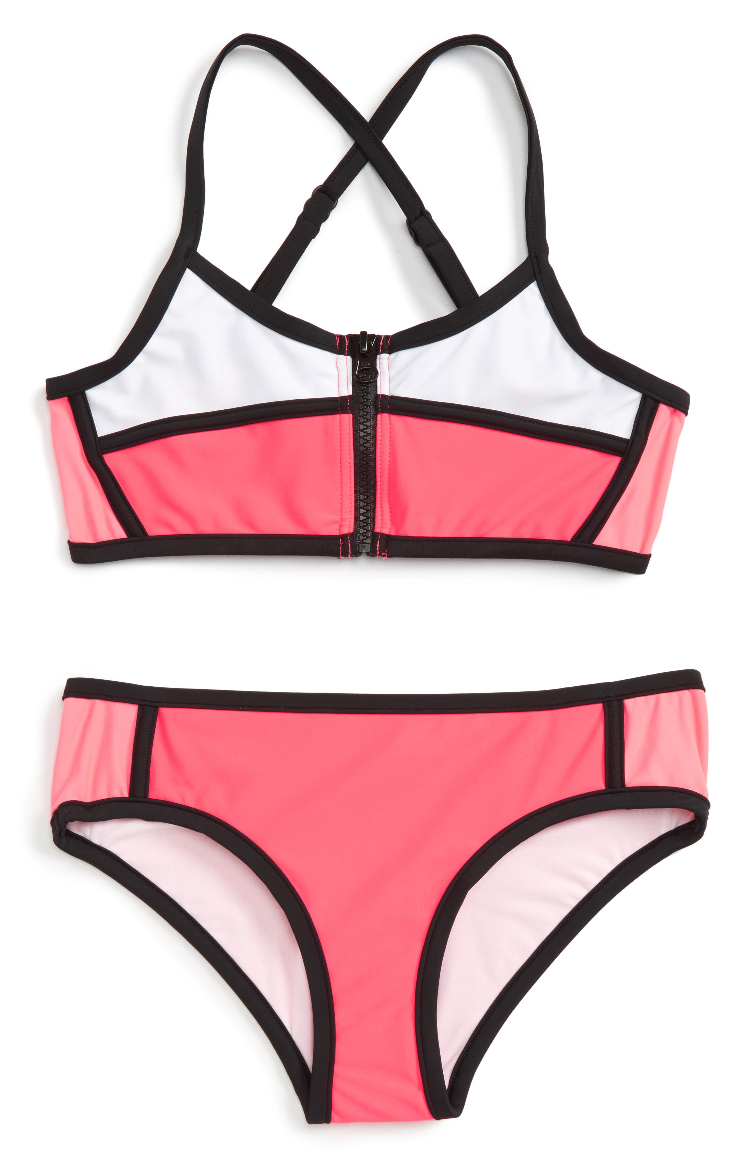 Seafolly Sapphire Coast Two-Piece Swimsuit (Big Girls)