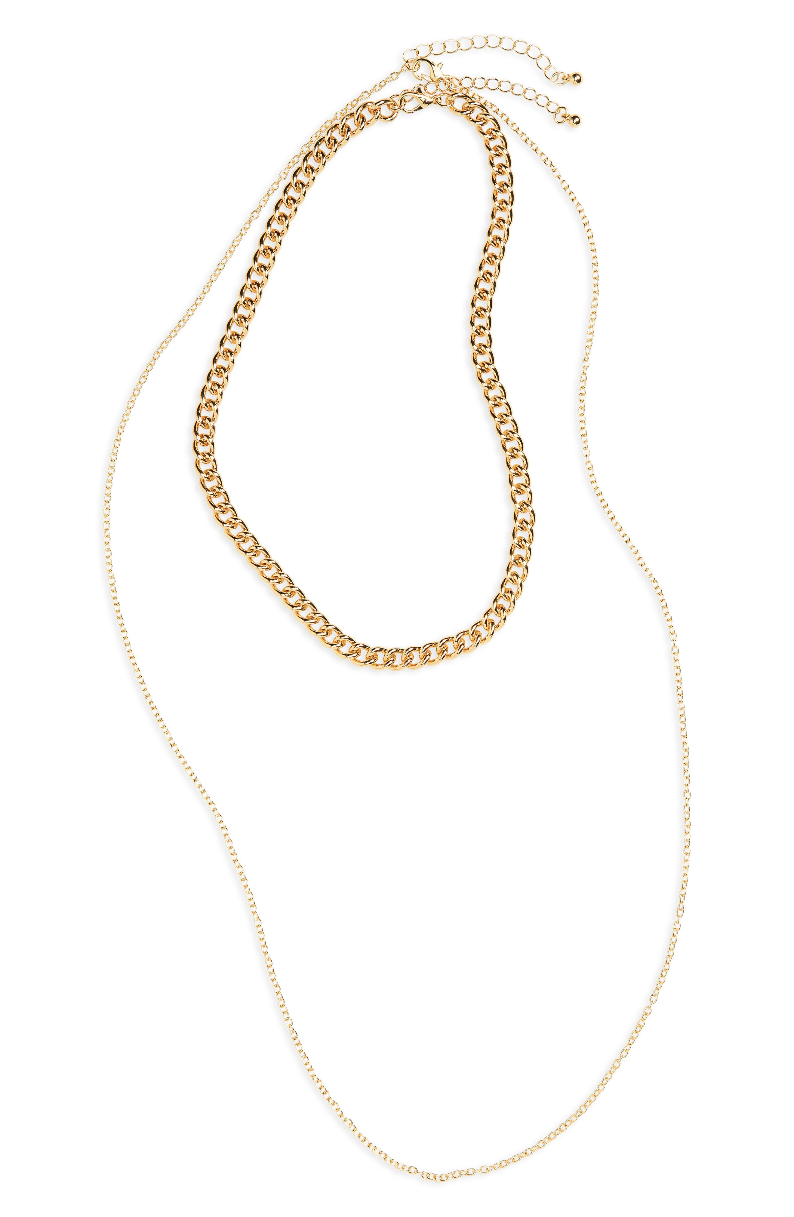 BP. 2-Pack Chain Necklaces