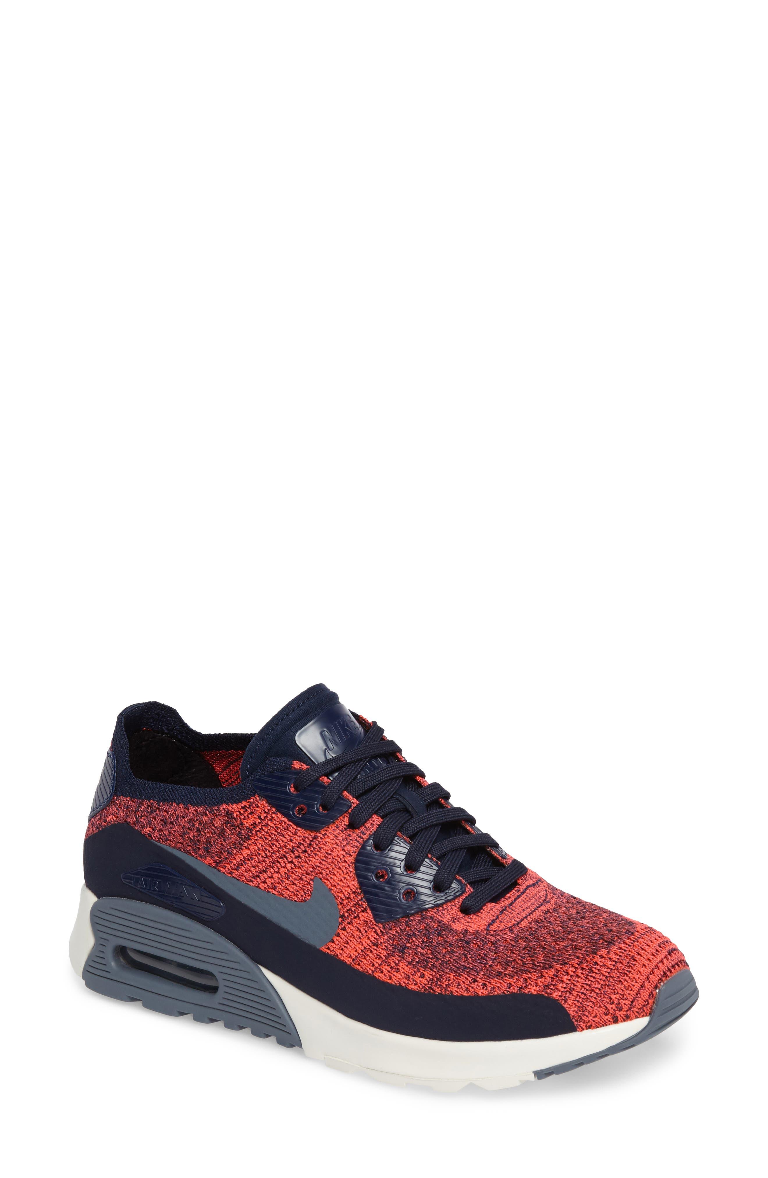 Nike Air Max 90 Flyknit Ultra 2.0 Sneaker (Women)