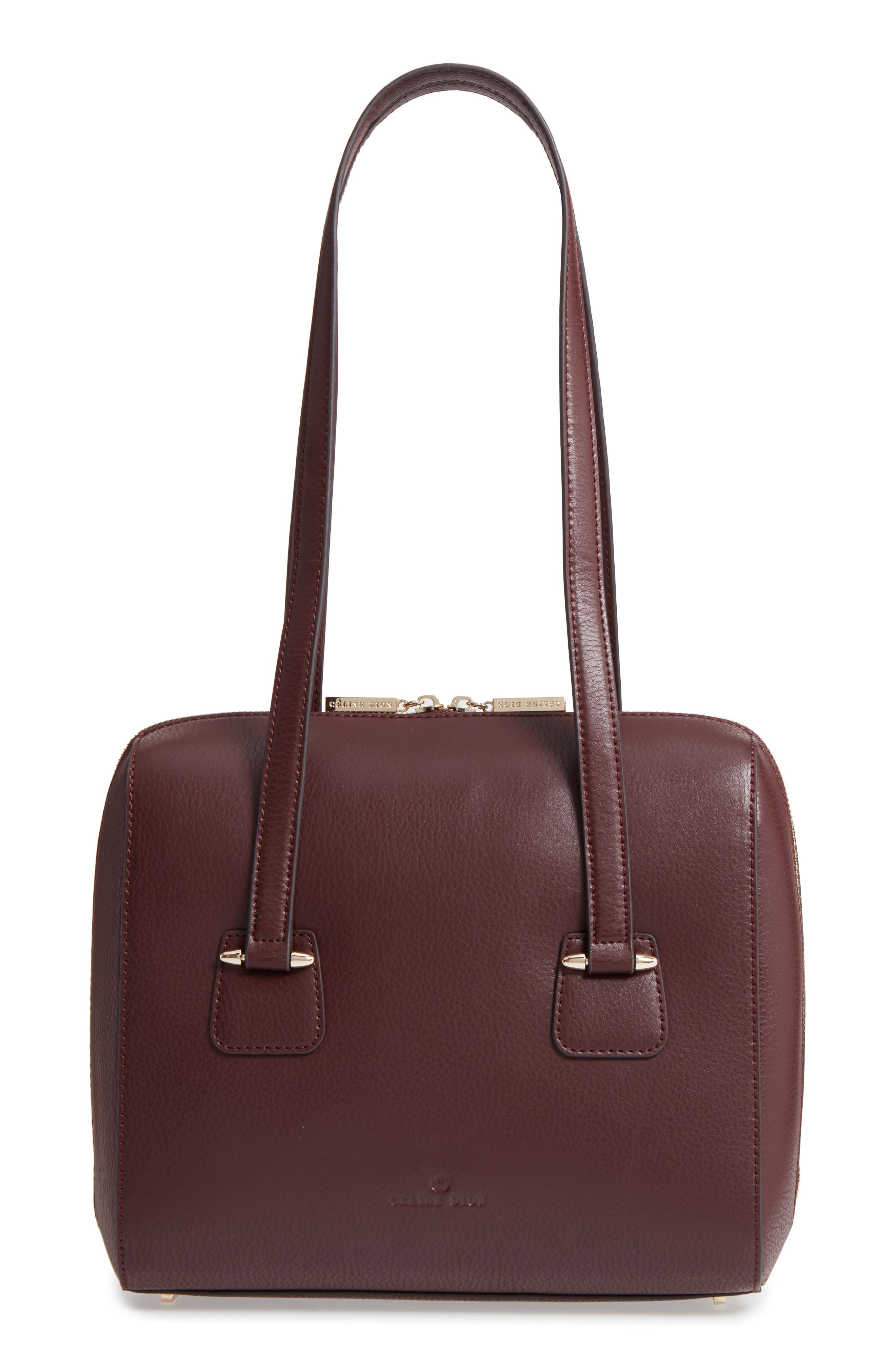 Céline Dion Triad Faux Leather Tote