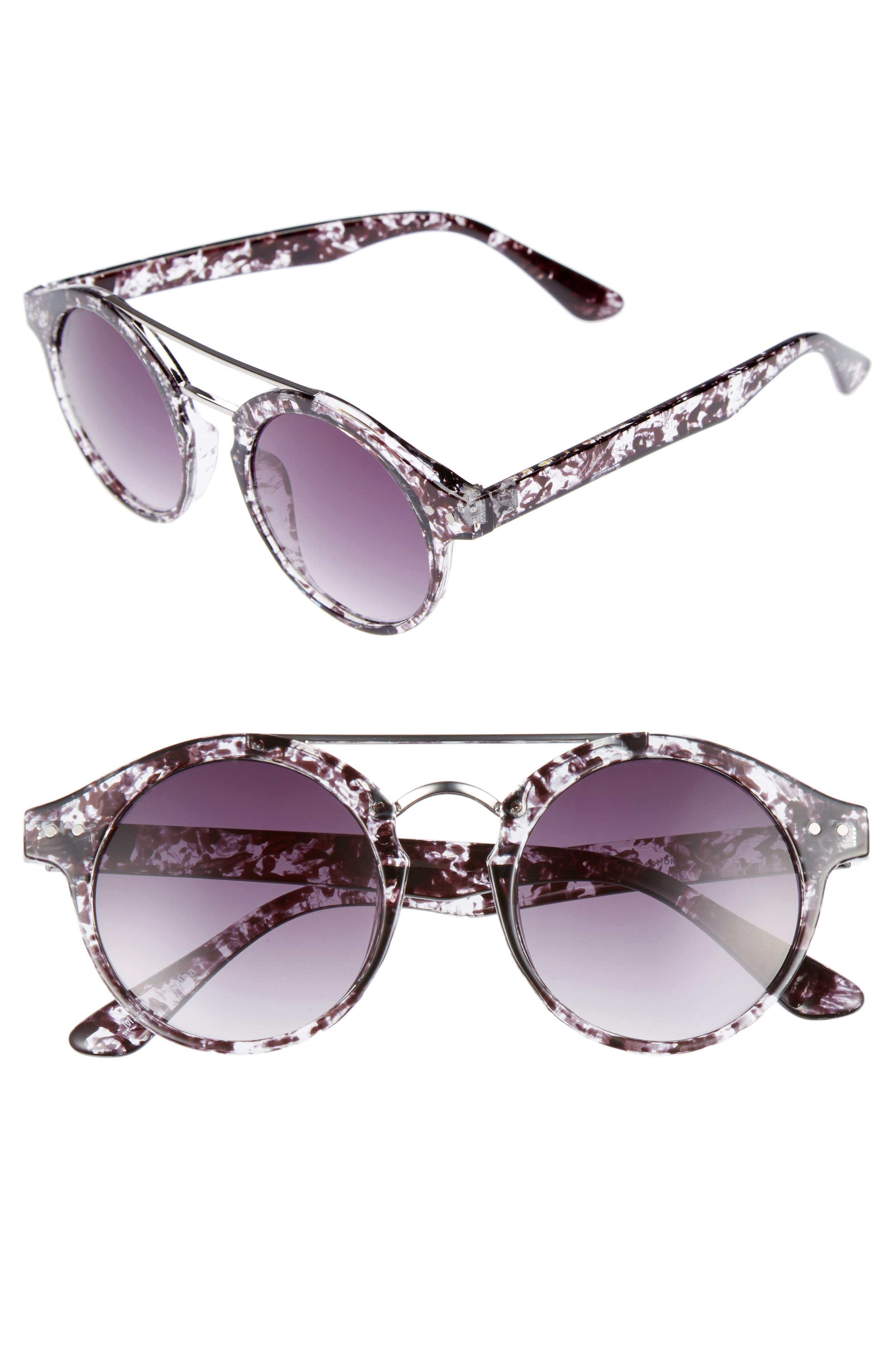 BP. 45mm Round Sunglasses