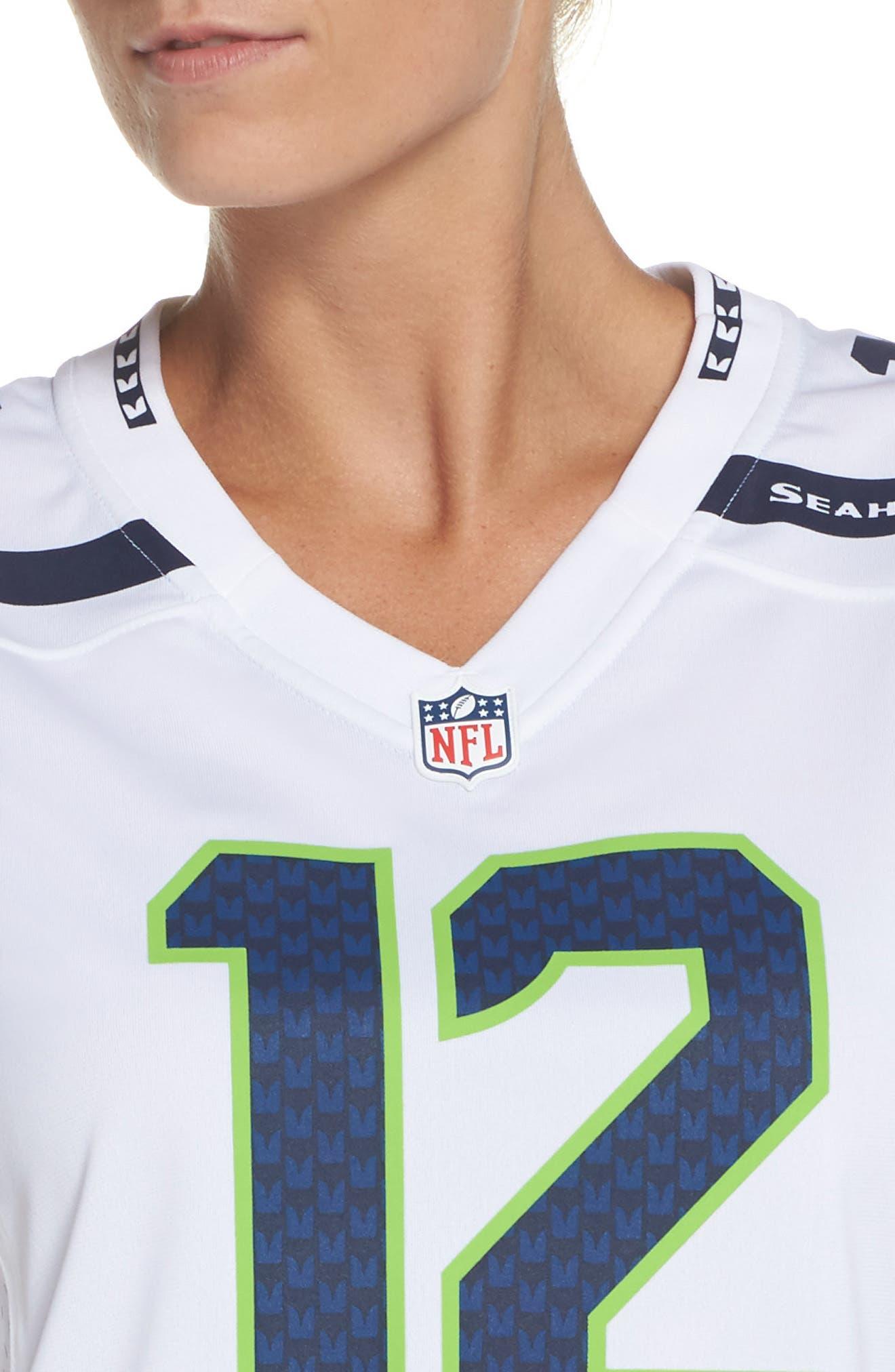 Nike Seattle Seahawks Away Game Fan Jersey