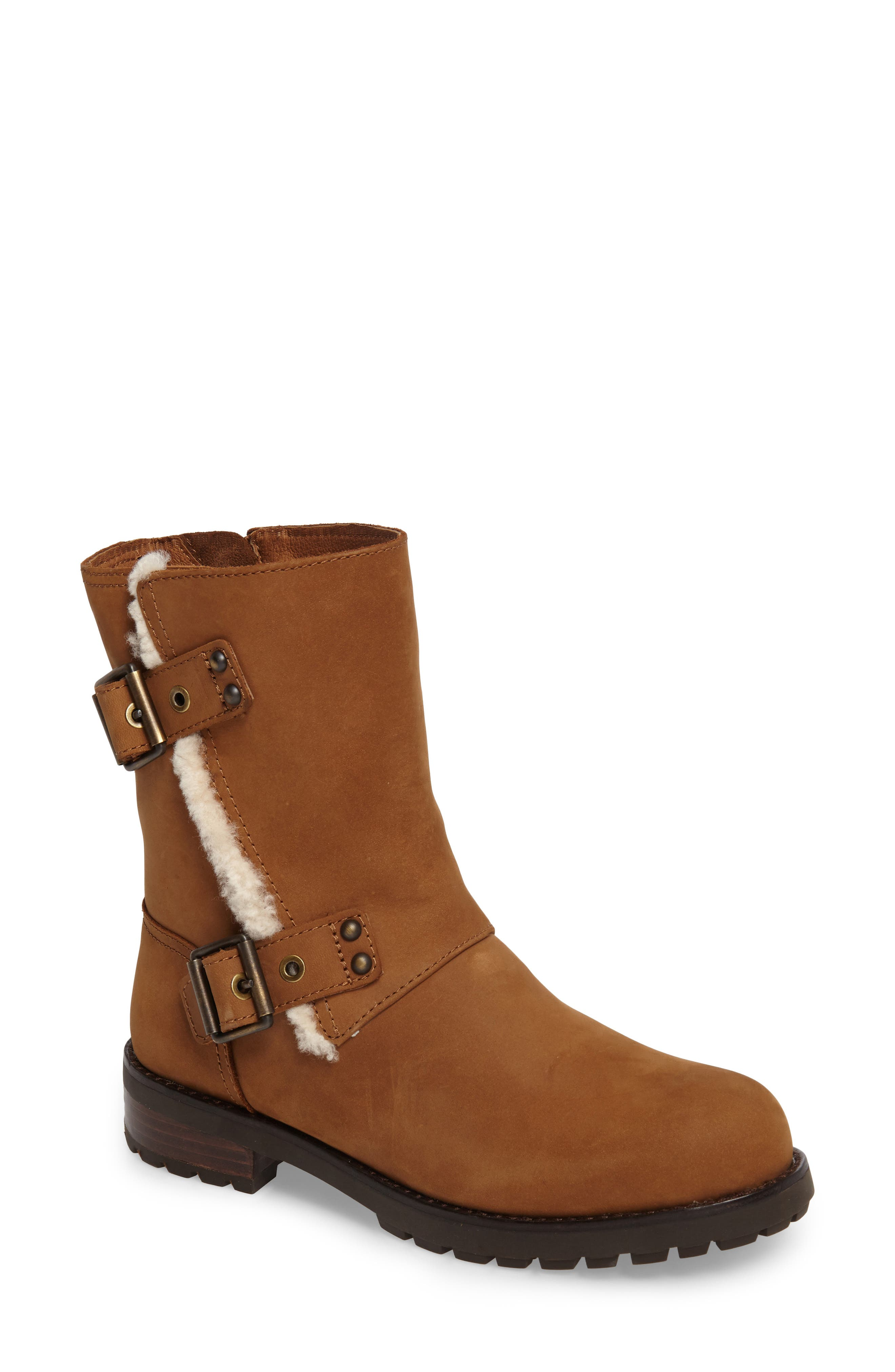 UGG® Niels Water Resistant Genuin Shearling Boot (Women)