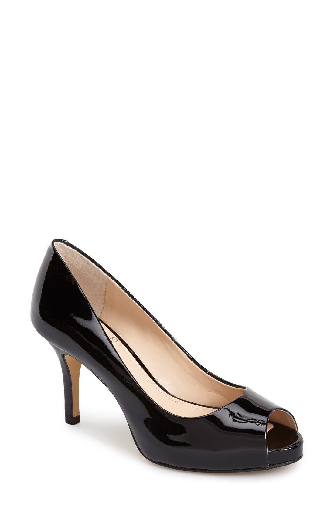 Main Image - Vince Camuto 'Kiley' Peep Toe Platform Pump (Women)