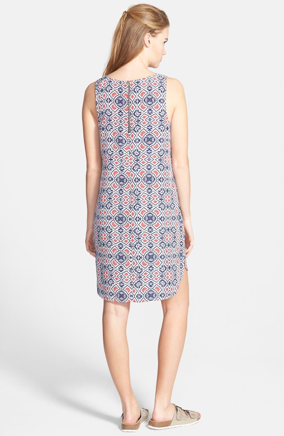 Alternate Image 2  - Socialite Print Shift Dress