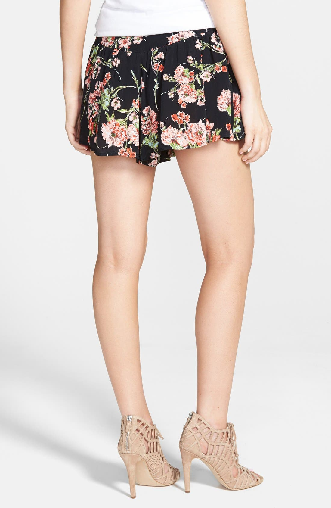 Alternate Image 2  - Band of Gypsies Floral Shorts
