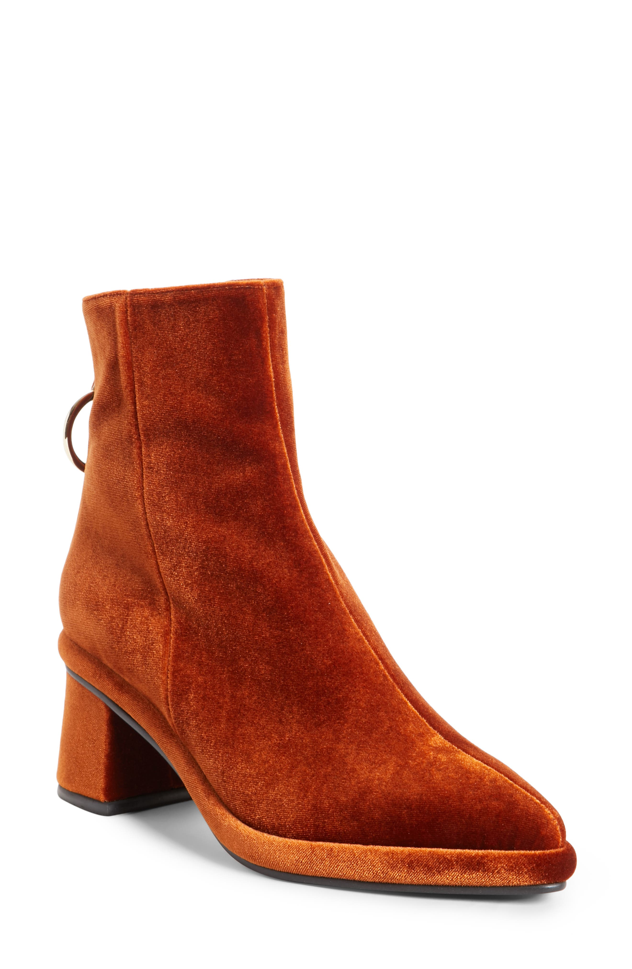 Womens dress boots low heel