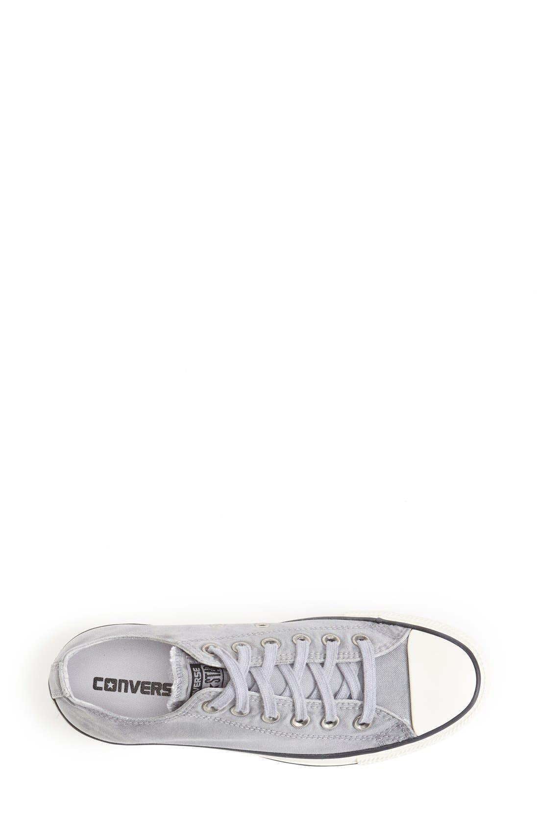 Alternate Image 3  - Converse Chuck Taylor® All Star® 'White Wash Ox' Sneaker (Women)