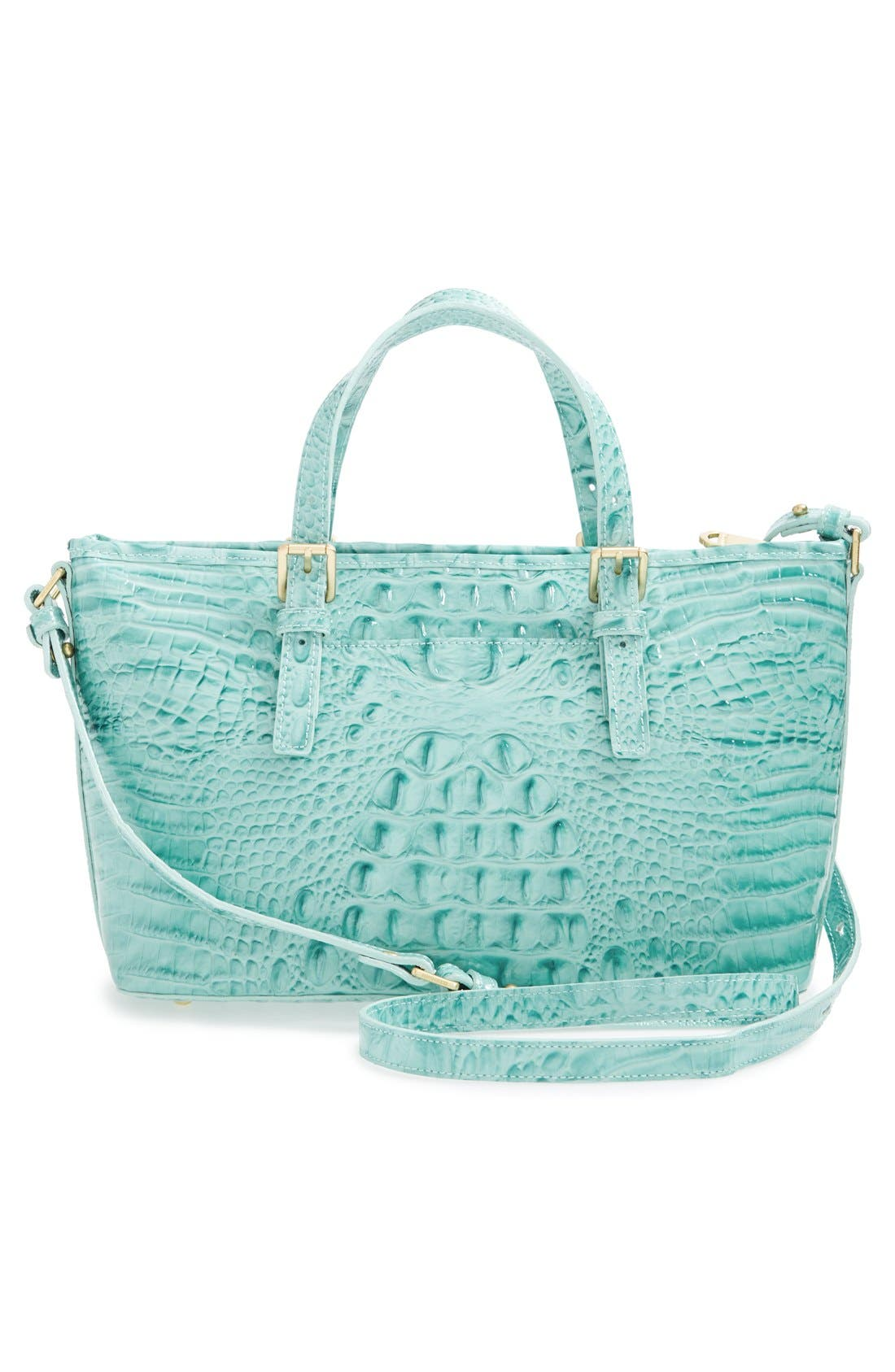 Alternate Image 3  - Brahmin 'Melbourne - Mini Asher' Croc Embossed Leather Tote