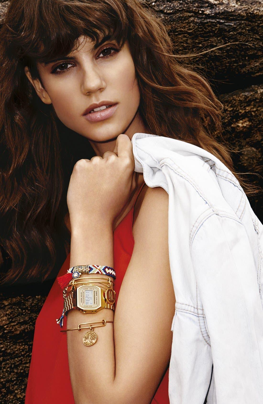 Alternate Image 3  - Cara Tassel Woven Friendship Bracelet