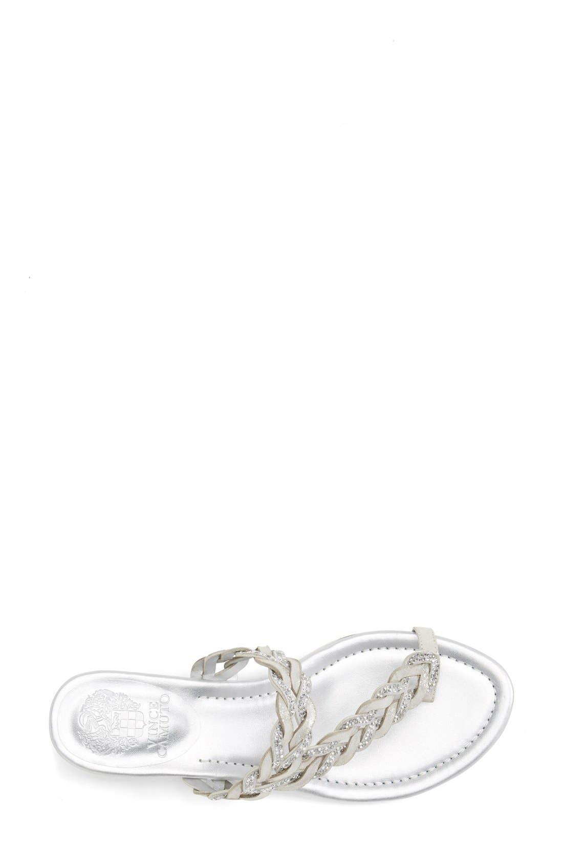 Alternate Image 3  - Vince Camuto 'Imora' Braided Thong Sandal (Women)