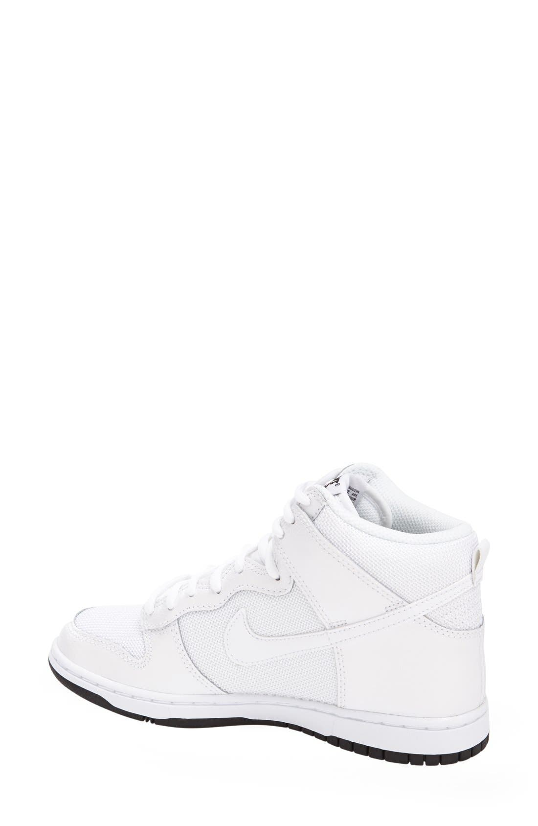 Alternate Image 2  - Nike 'Dunk High Skinny' Sneaker (Women)