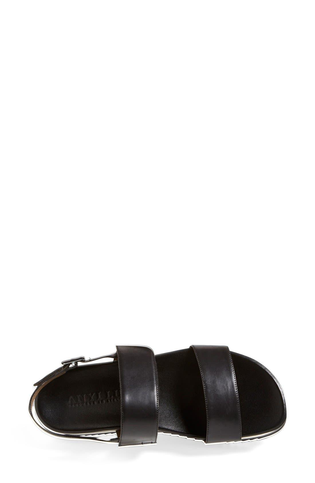 Alternate Image 3  - Anyi Lu 'Viva' Leather Platform Sandal (Women)