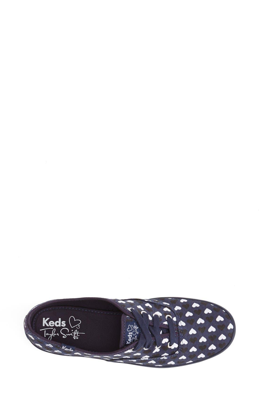Alternate Image 4  - Keds® Taylor Swift 'Champion - Hearts' Sneaker (Women)