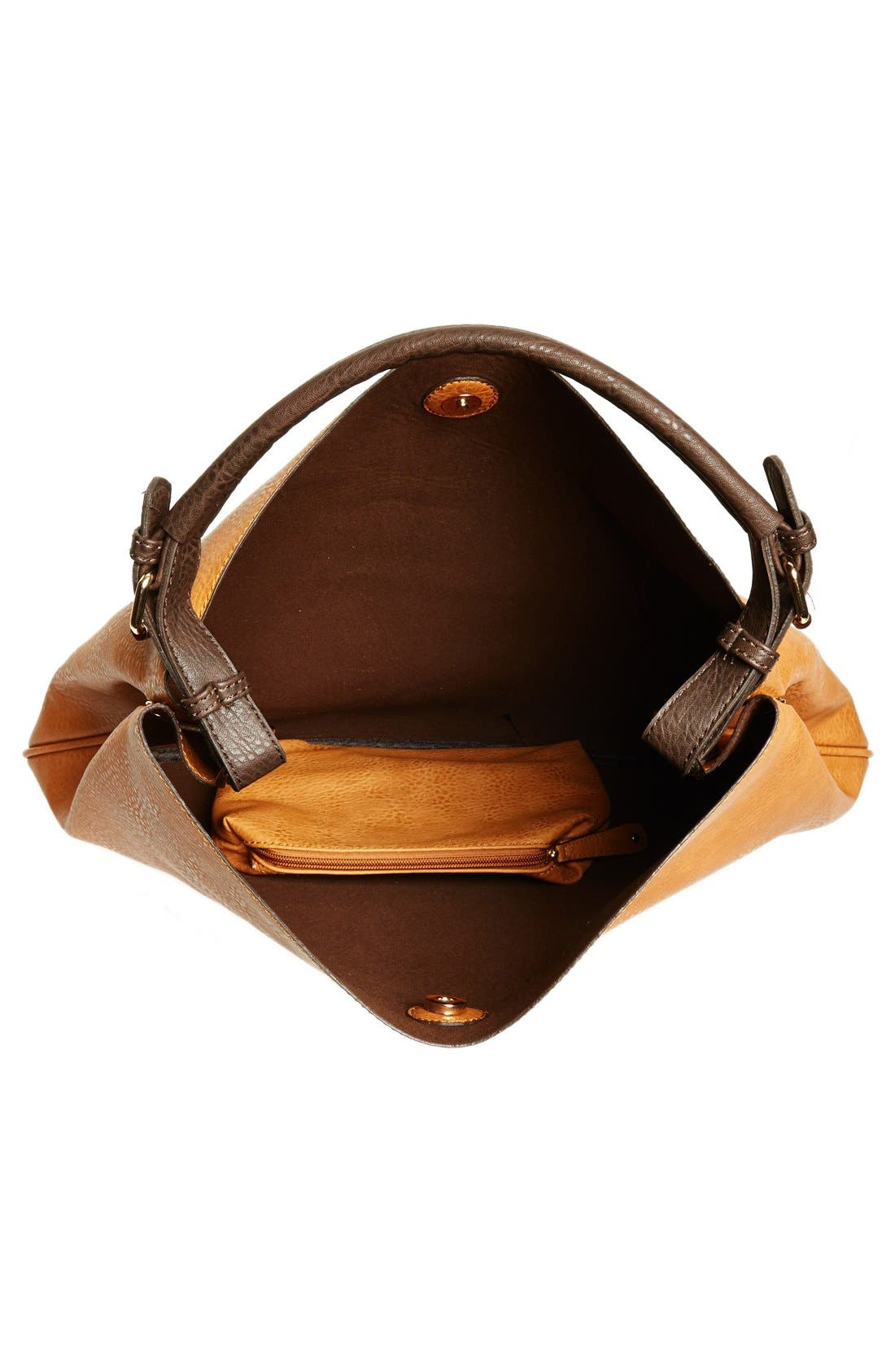 Alternate Image 4  - Sole Society 'Capri' Faux Leather Tote