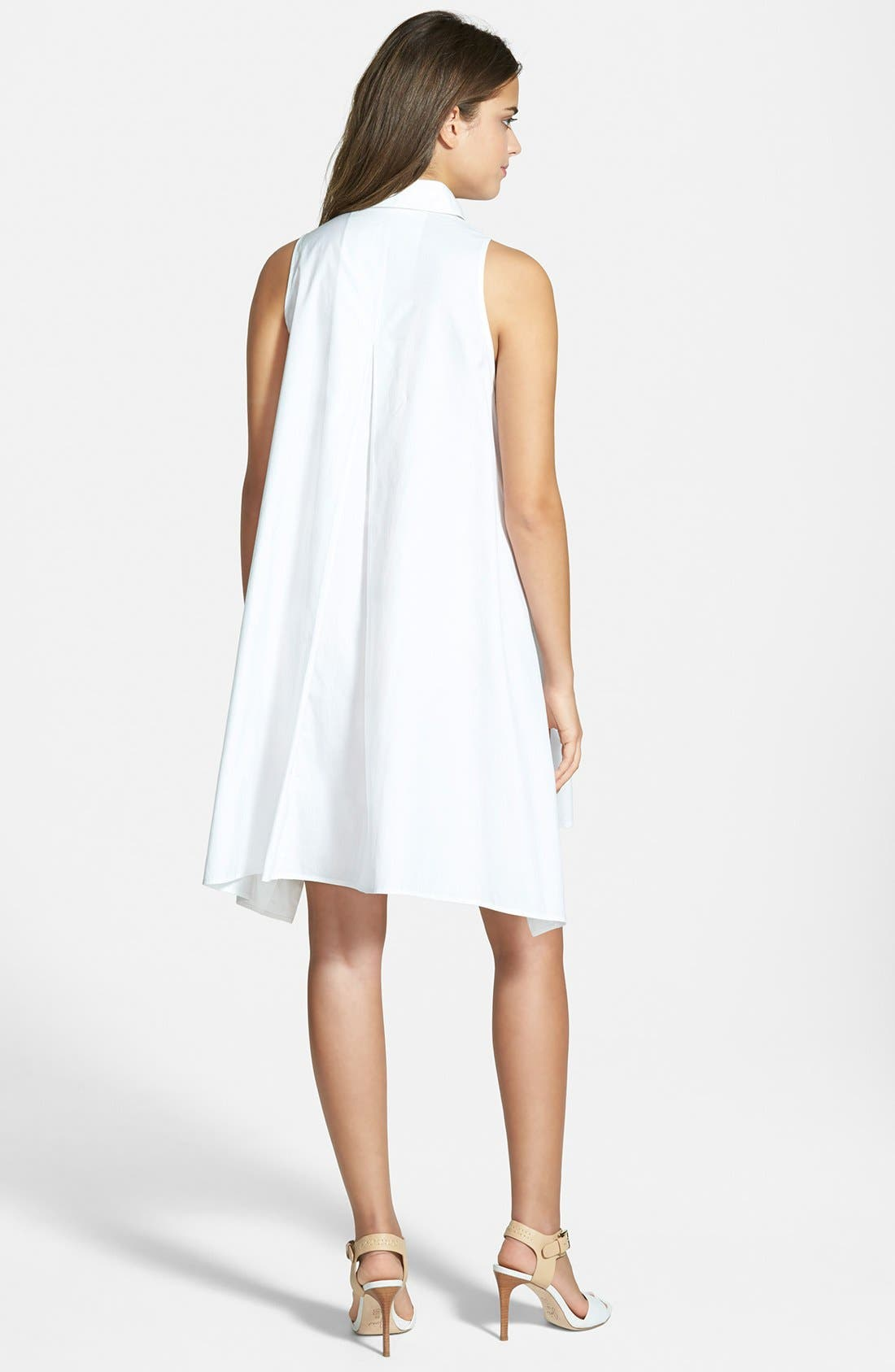Alternate Image 2  - Rebecca Minkoff 'Miley' Sleeveless Shirtdress