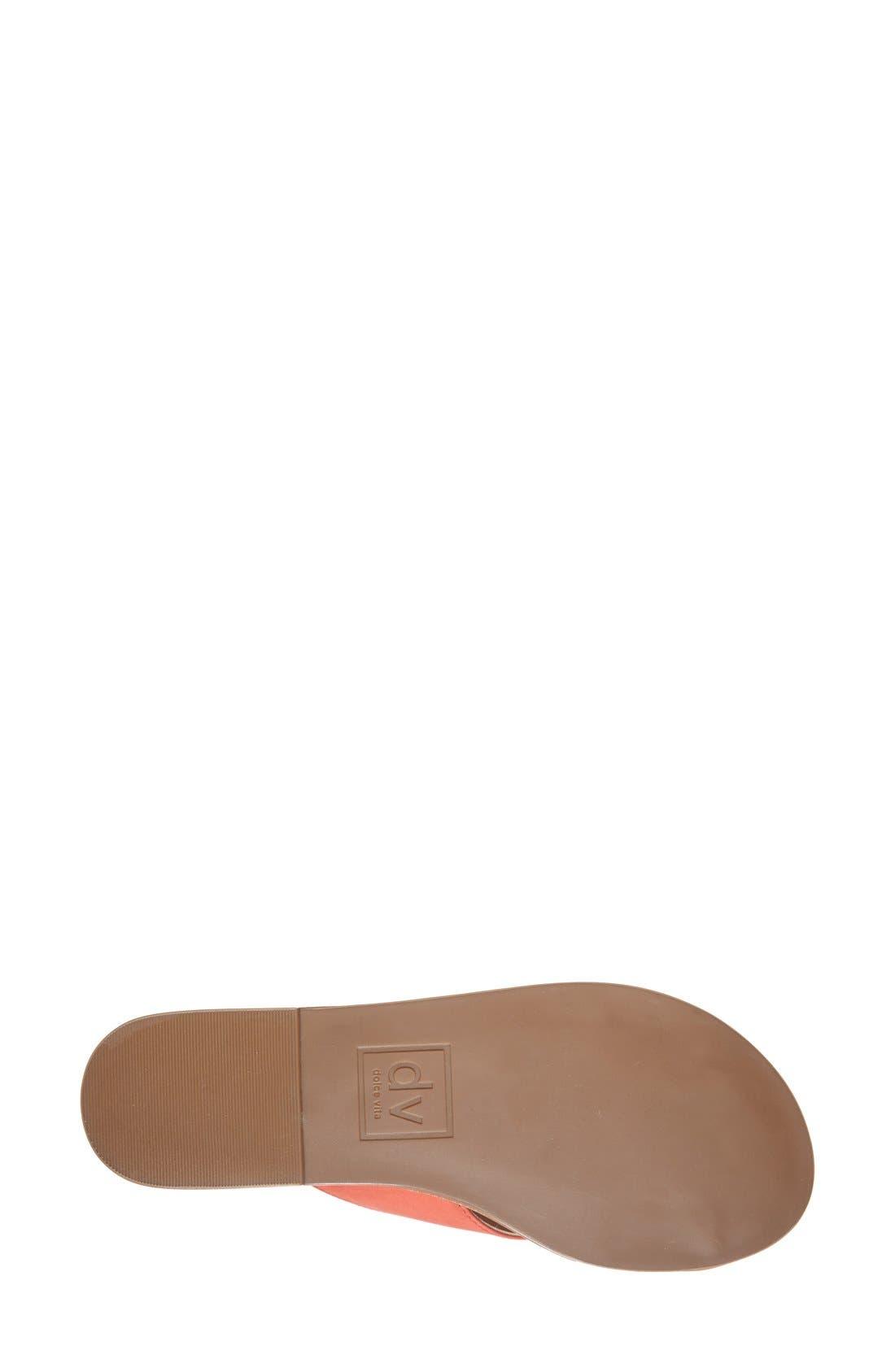 Alternate Image 4  - DV by Dolce Vita 'Orra' Crossover Strap Flat Sandal (Women)