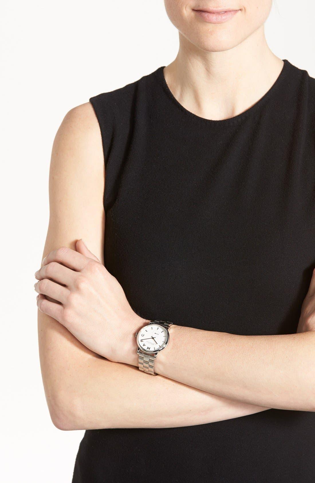 Alternate Image 4  - MARC JACOBS 'Baker' Bracelet Watch, 37mm