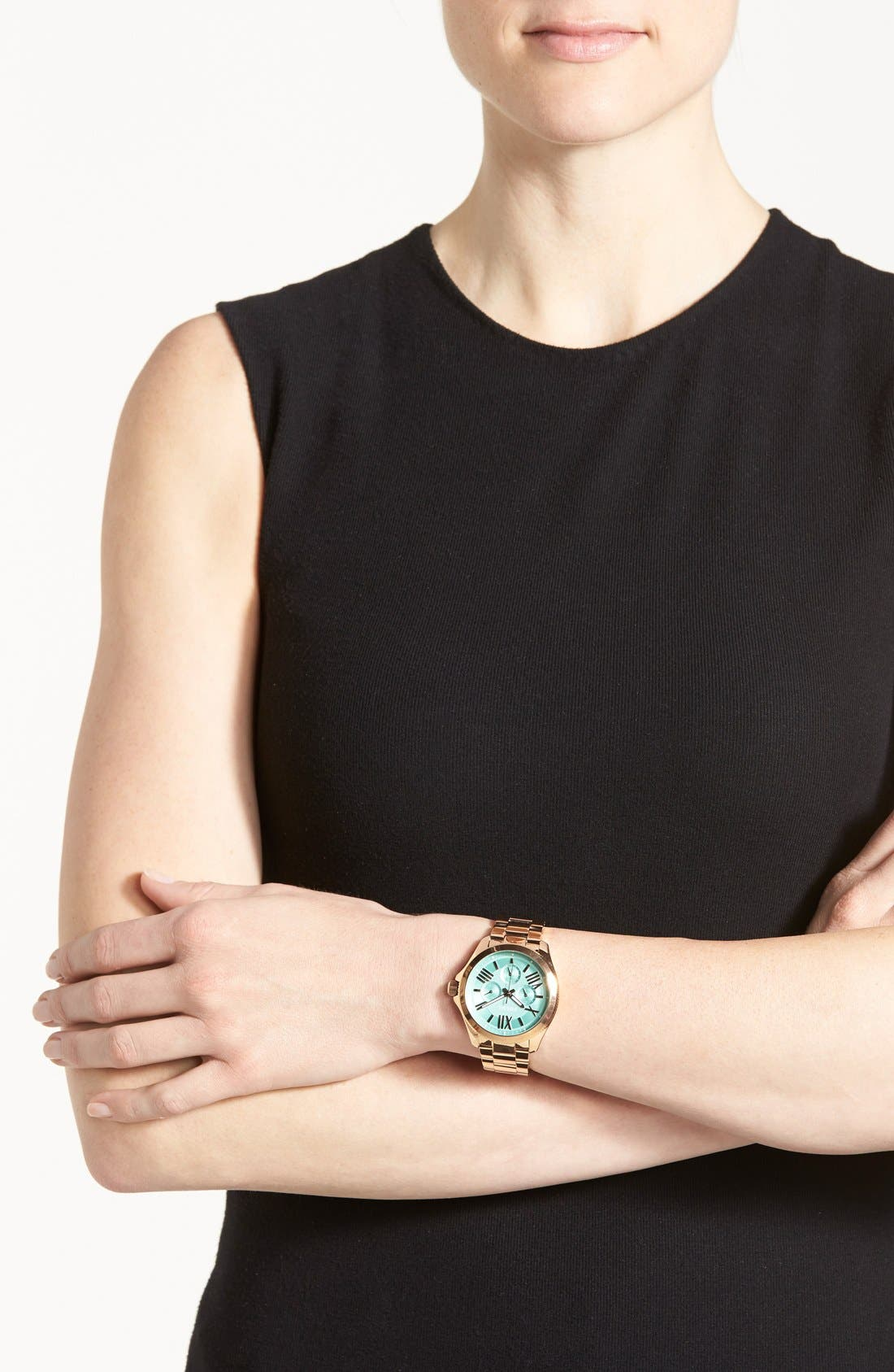 Alternate Image 4  - Fossil 'Cecile' Multifunction Bracelet Watch, 40mm