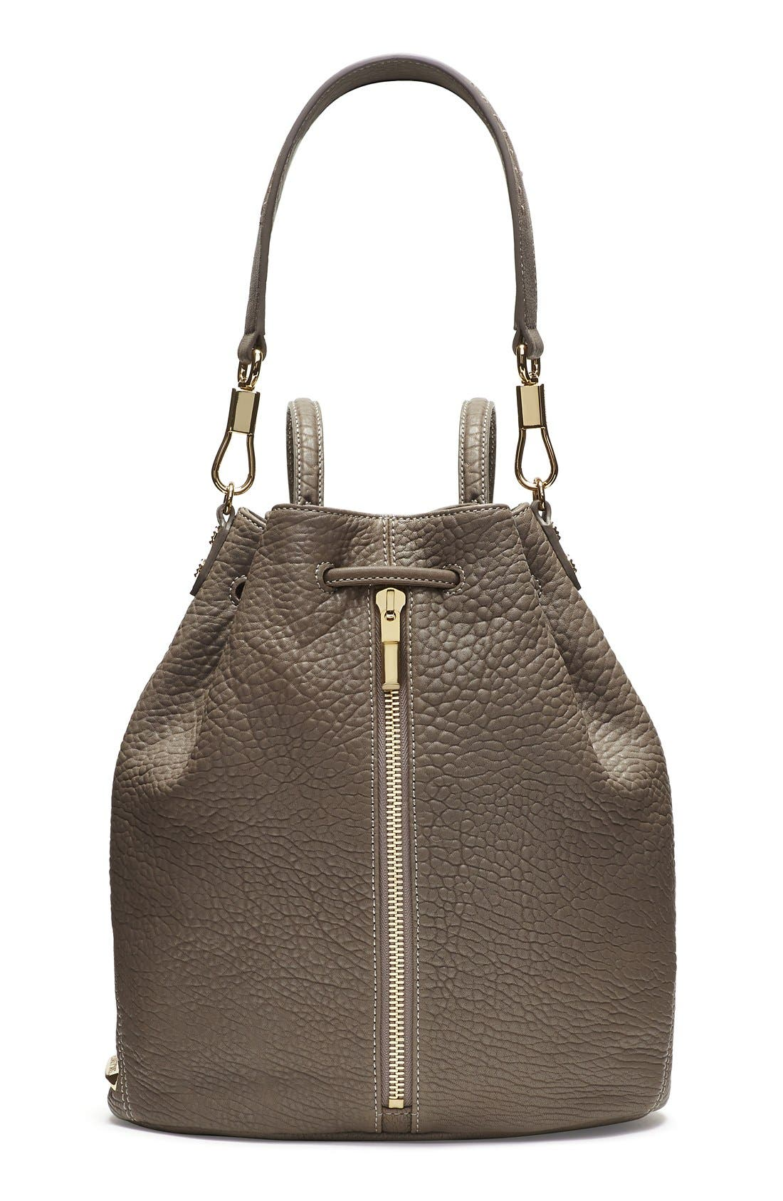 Alternate Image 1 Selected - Elizabeth and James 'Cynnie' Leather Sling Backpack