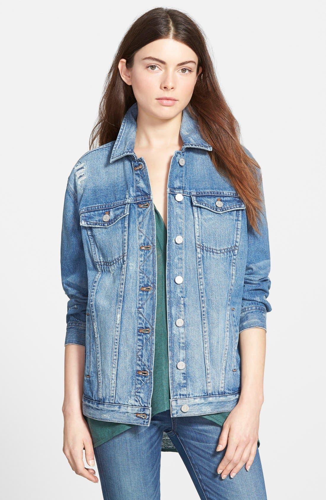 Main Image - Madewell Oversize Jean Jacket