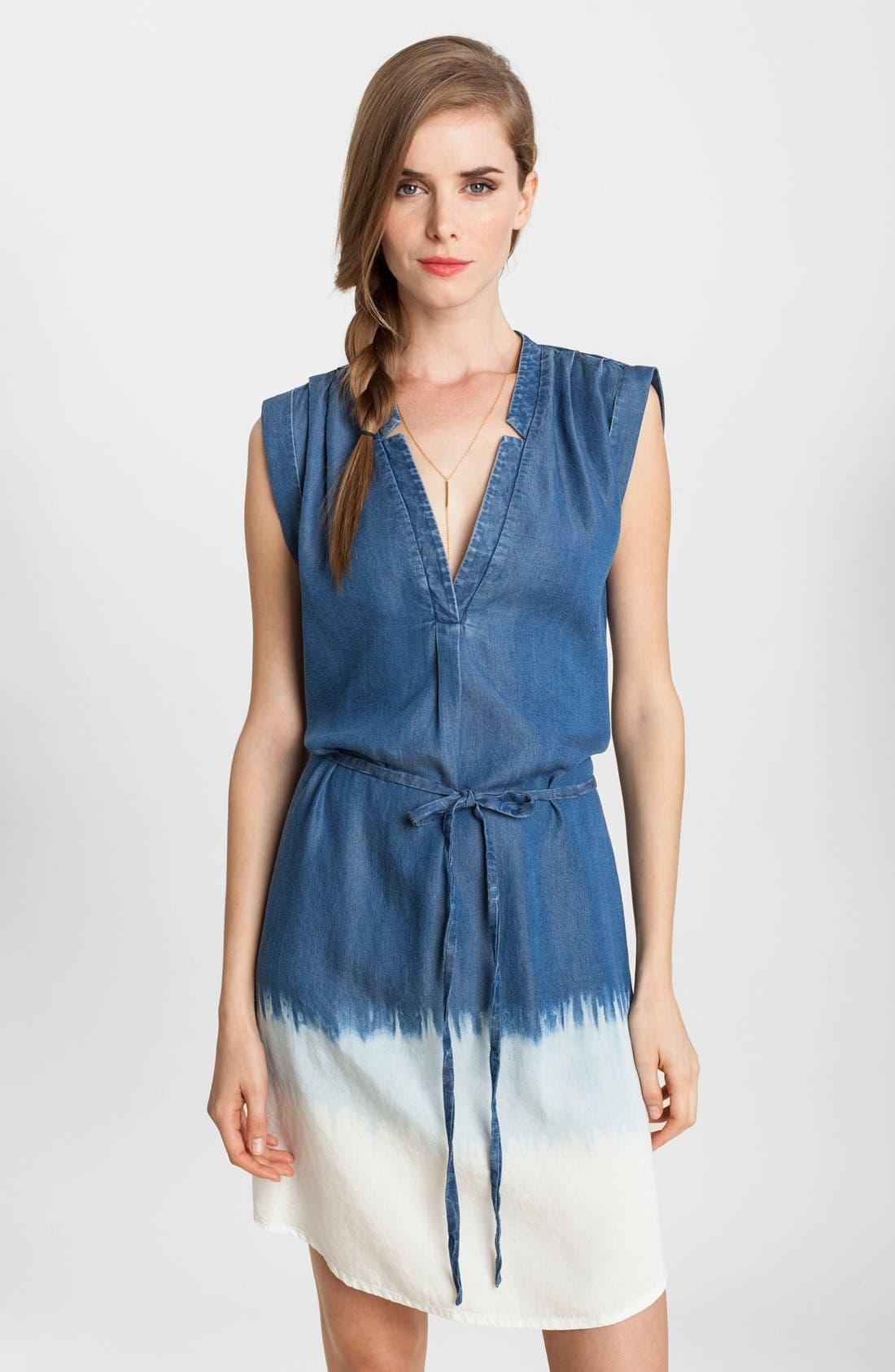 Alternate Image 4  - Splendid Dip Dye Dress