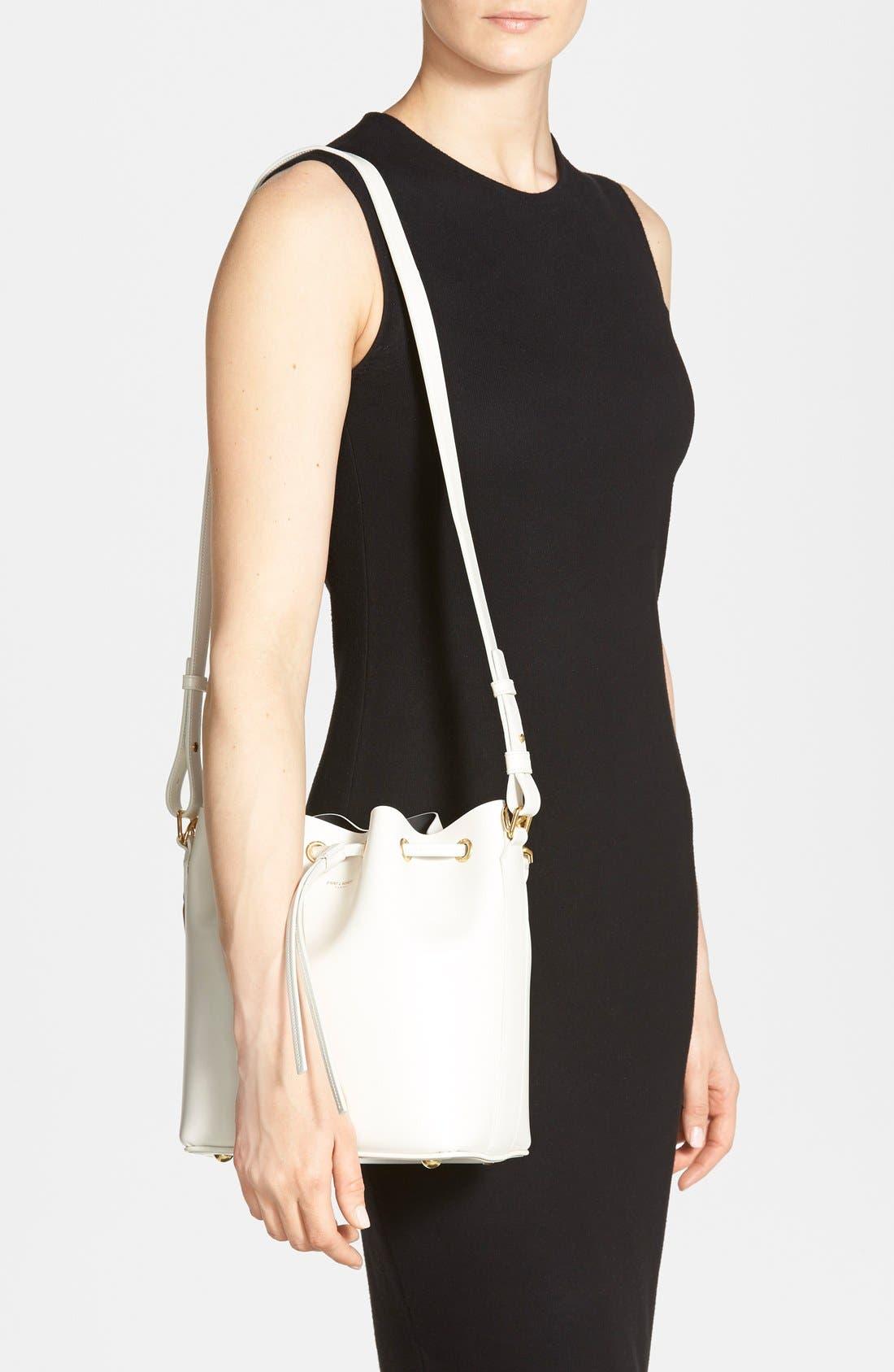Alternate Image 2  - Saint Laurent Leather Bucket Bag