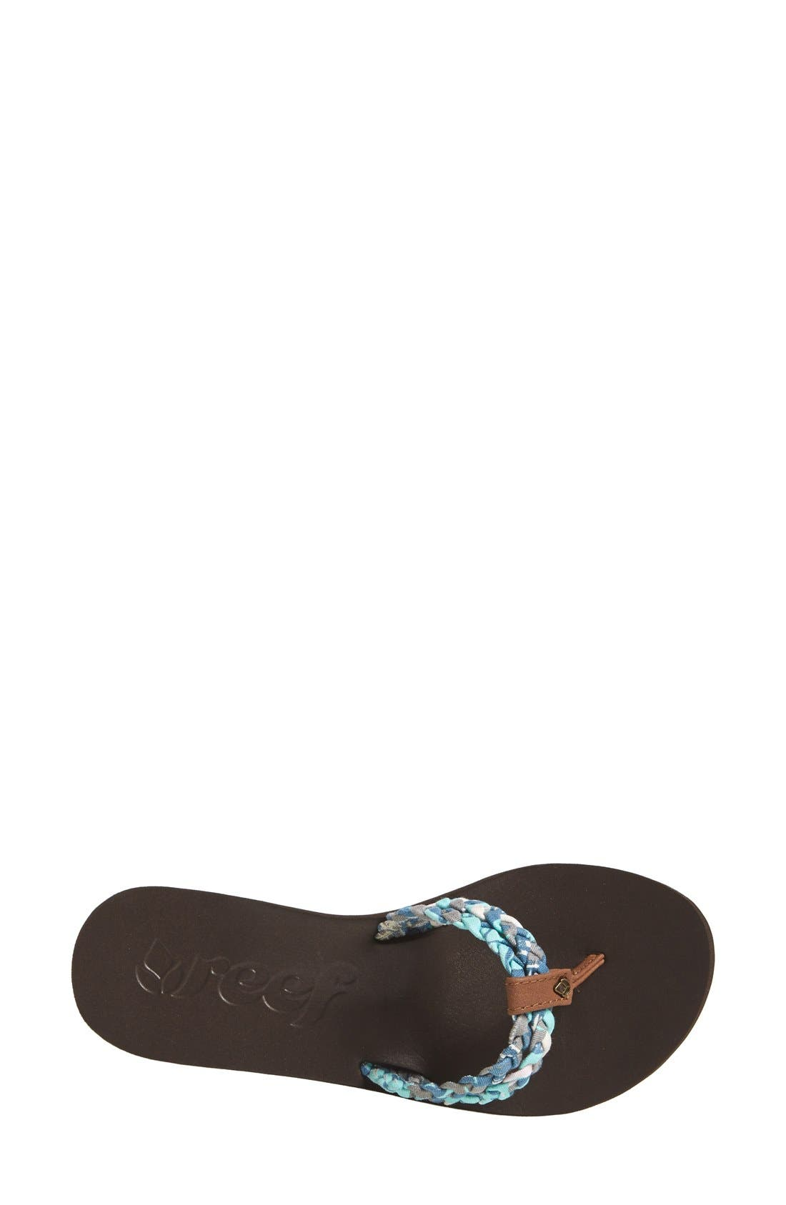 Alternate Image 4  - Reef 'Twisted Sky' Flip-Flop Thong Sandal (Women)